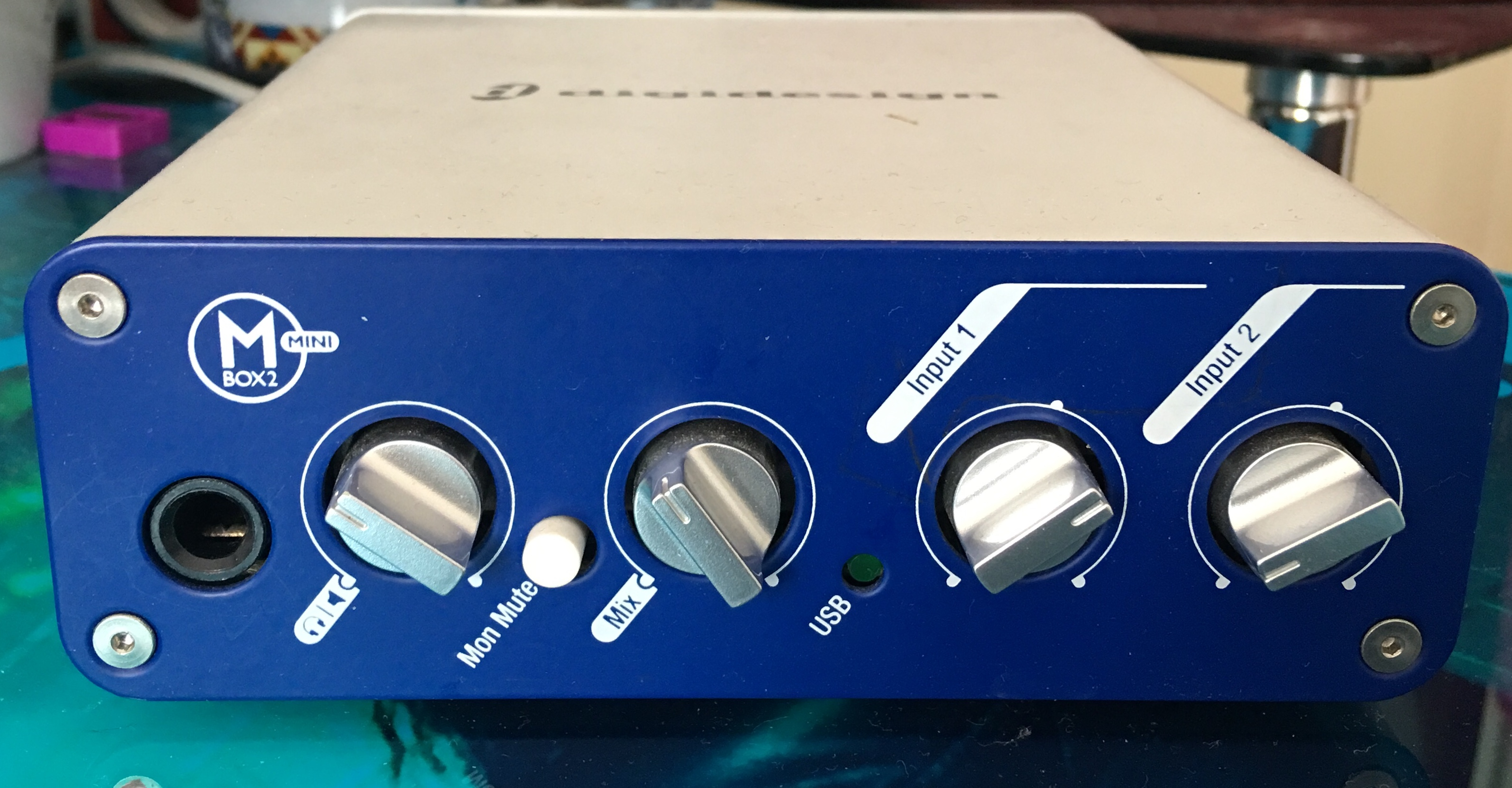digidesign mbox 2 mini garageband driver