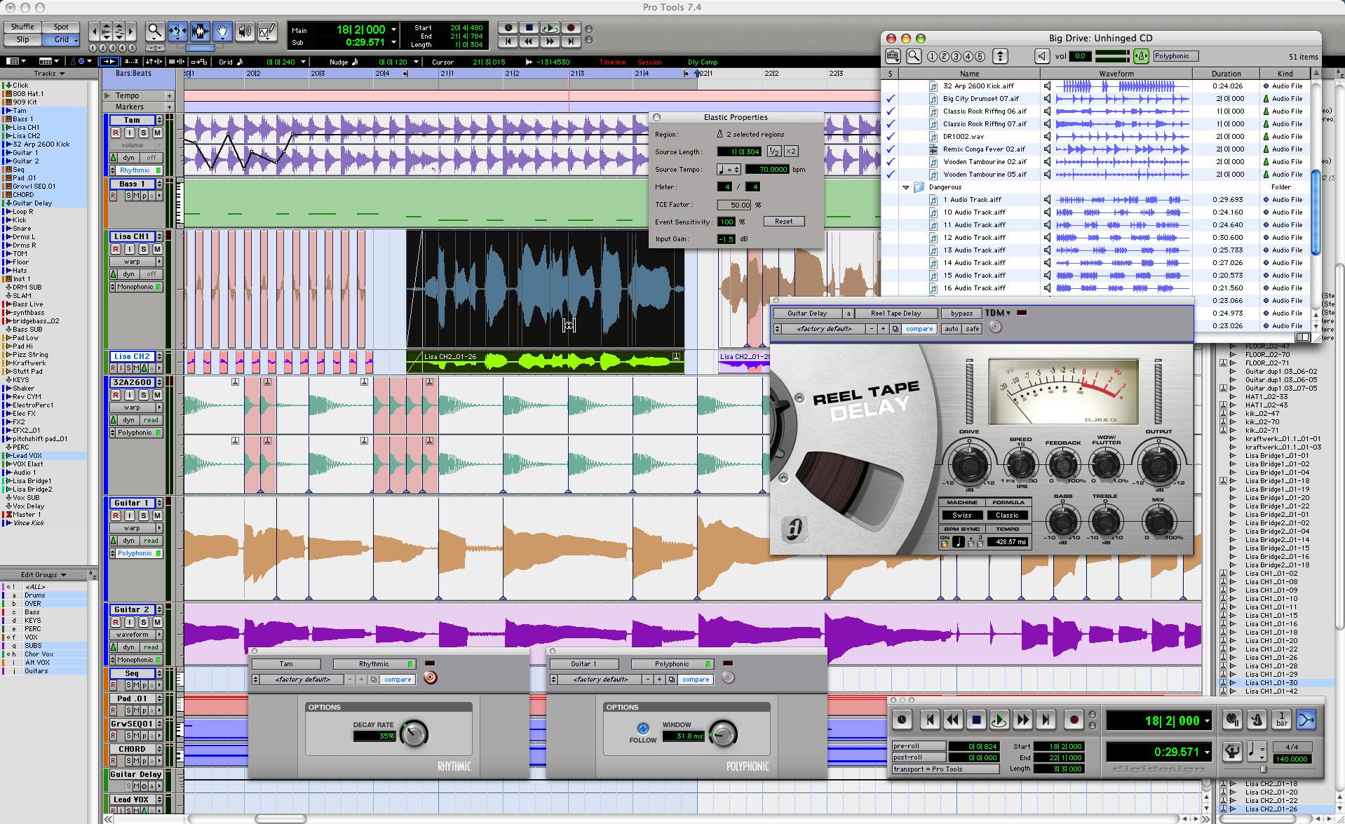 pro tools 7 digidesign pro tools 7 audiofanzine. Black Bedroom Furniture Sets. Home Design Ideas