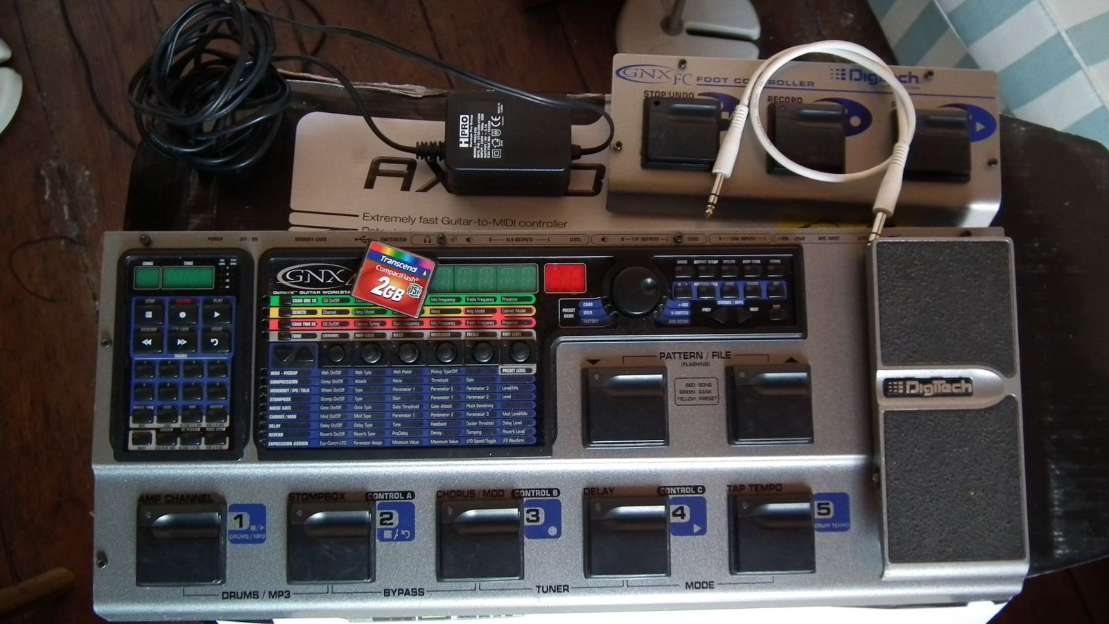 DigiTech GNX4 Guitar Work Station archiechansons images
