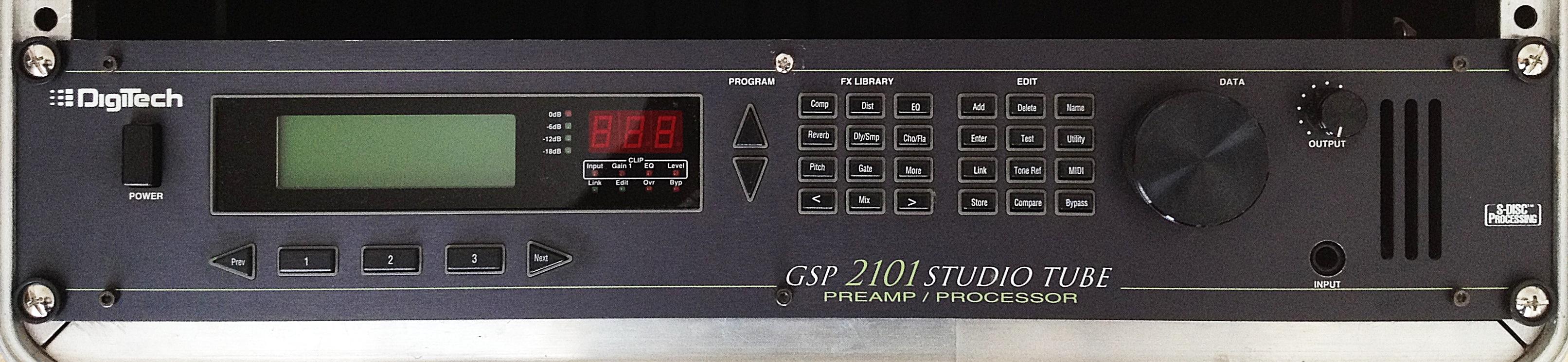 Digitech Gsp 2101 Studio Tube Manual