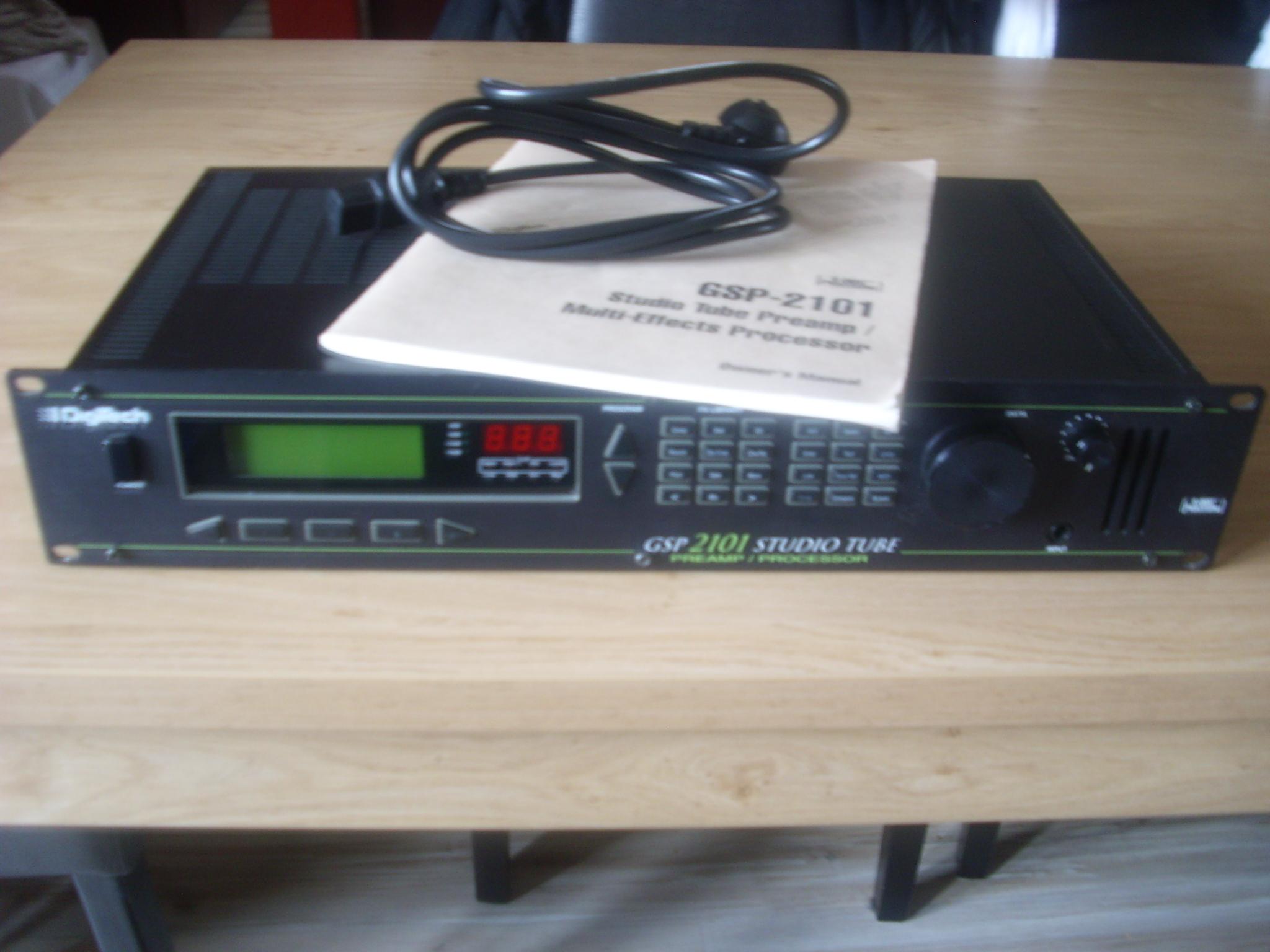 Digitech Gsp 2101 Manual