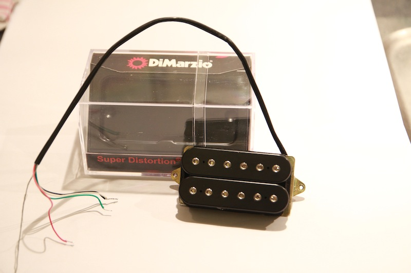 DiMarzio DP100 Super Distortion image (#525338) - Audiofanzine
