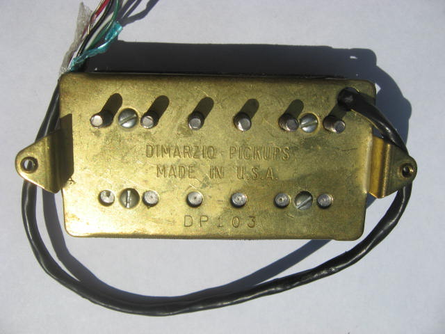 Fine Two Humbuckers 5 Way Switch Tiny Hh 5 Way Switch Wiring Clean Gretsch Wiring Harness Solar Panel Diagram Old Solar Panel Wiring Guide BrightSolar Panel Diagrams DiMarzio DP103 PAF 36th Anniversary Image (#424848)   Audiofanzine