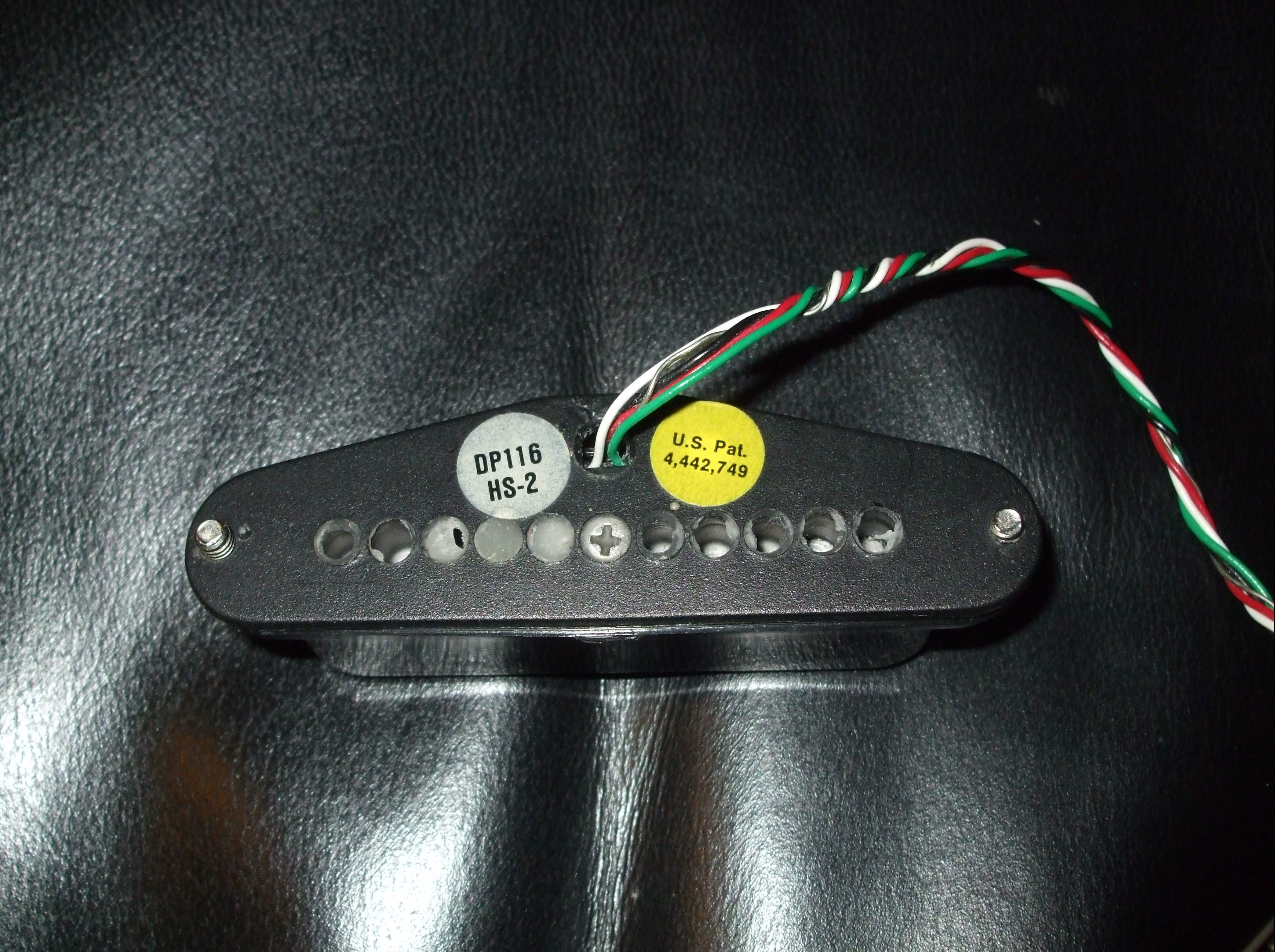 Cute Two Humbuckers 5 Way Switch Huge Hh 5 Way Switch Wiring Square Gretsch Wiring Harness Solar Panel Diagram Youthful Solar Panel Wiring Guide BrownSolar Panel Diagrams DiMarzio DP116 HS 2 Image (#800757)   Audiofanzine