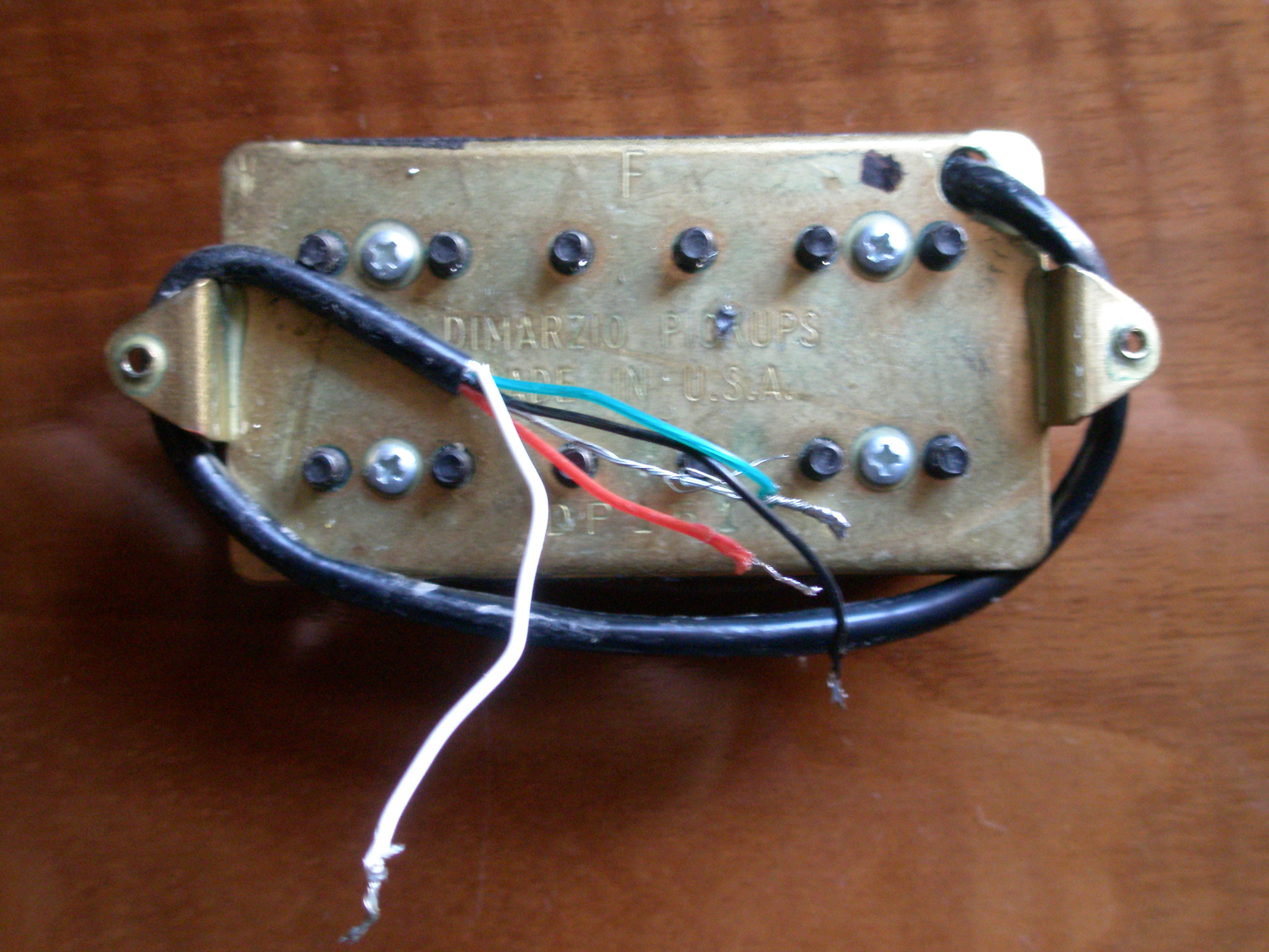 Beautiful Two Humbuckers 5 Way Switch Tiny Hh 5 Way Switch Wiring Solid Gretsch Wiring Harness Solar Panel Diagram Old Solar Panel Wiring Guide BrightSolar Panel Diagrams DiMarzio DP151F PAF Pro F Spaced Image (#372814)   Audiofanzine