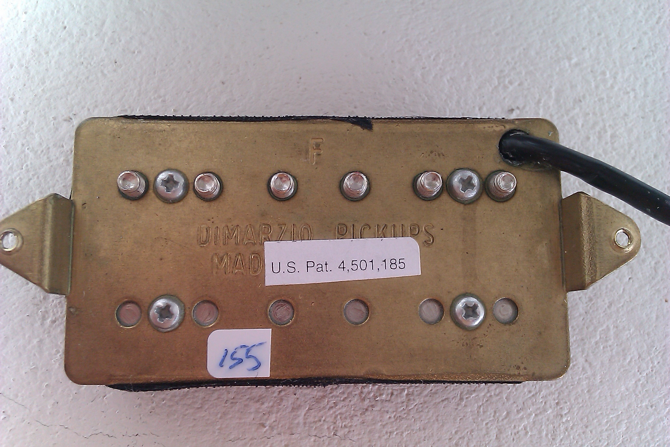 Comfortable Two Humbuckers 5 Way Switch Thick Hh 5 Way Switch Wiring Flat Gretsch Wiring Harness Solar Panel Diagram Youthful Solar Panel Wiring Guide YellowSolar Panel Diagrams DiMarzio DP155F The Tone Zone F Spaced Image (#257165)   Audiofanzine