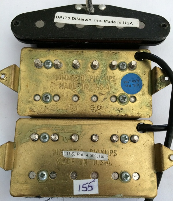 Famous Two Humbuckers 5 Way Switch Thick Hh 5 Way Switch Wiring Flat Gretsch Wiring Harness Solar Panel Diagram Young Solar Panel Wiring Guide DarkSolar Panel Diagrams DiMarzio DP170 Blue Velvet Neck Image (#823588)   Audiofanzine