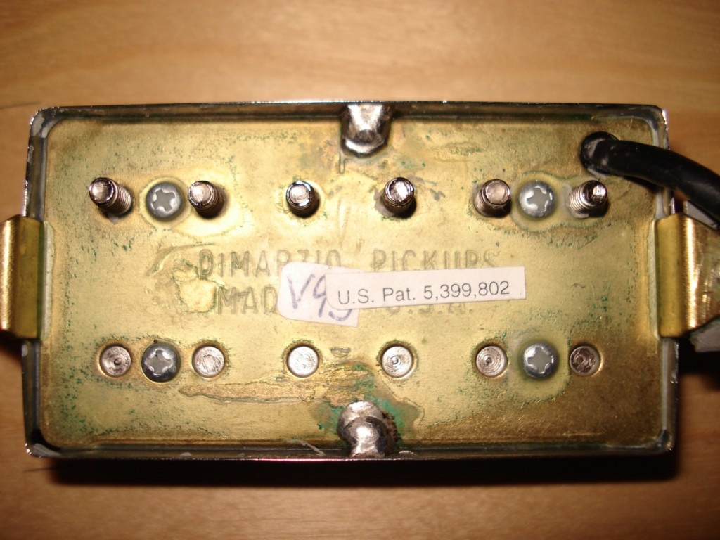 Nice Two Humbuckers 5 Way Switch Big Hh 5 Way Switch Wiring Solid Gretsch Wiring Harness Solar Panel Diagram Young Solar Panel Wiring Guide PinkSolar Panel Diagrams DiMarzio DP194 PAF Classic Neck Image (#167213)   Audiofanzine
