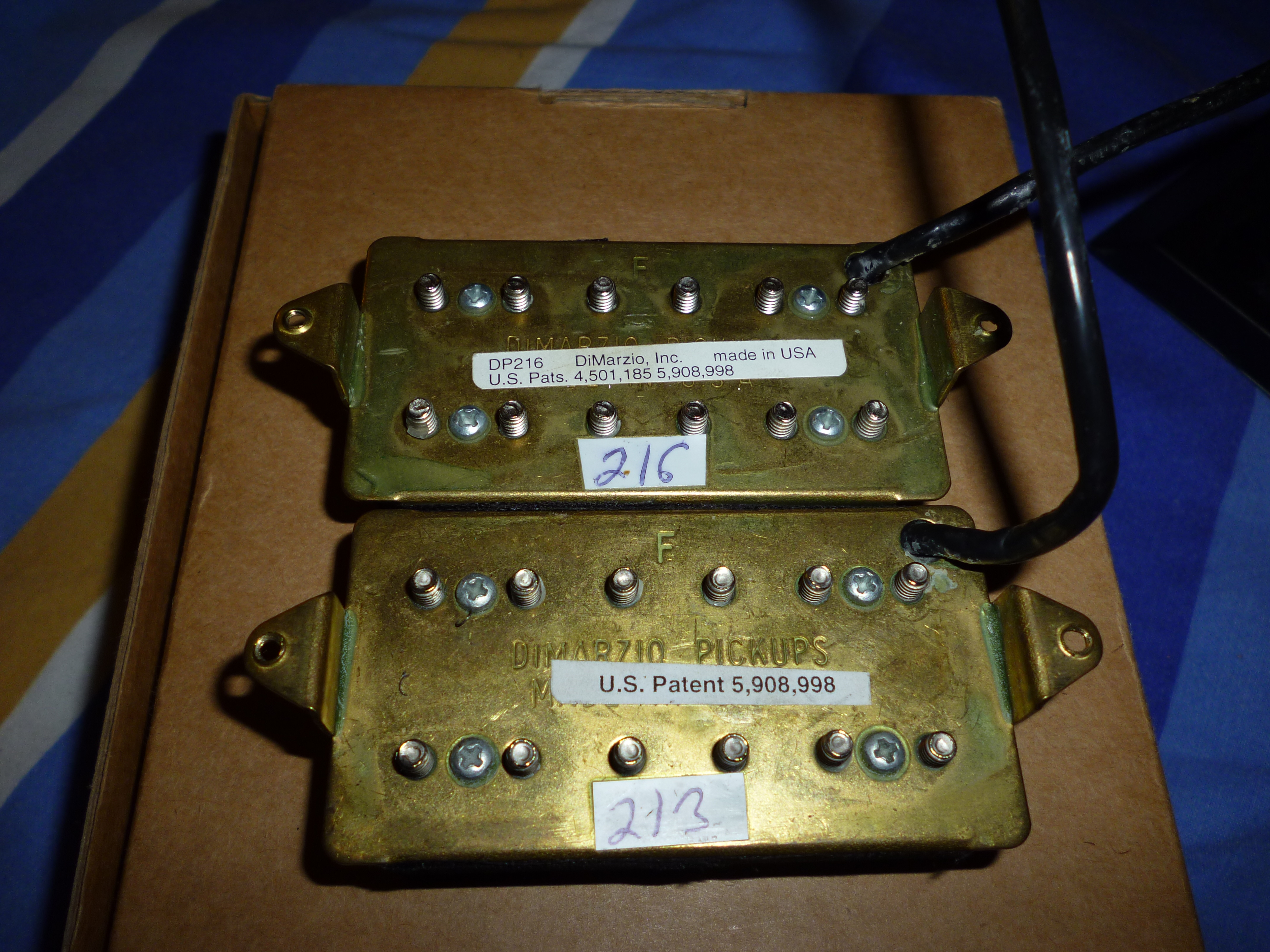 Excellent Two Humbuckers 5 Way Switch Tall Hh 5 Way Switch Wiring Solid Gretsch Wiring Harness Solar Panel Diagram Youthful Solar Panel Wiring Guide ColouredSolar Panel Diagrams DiMarzio DP213F PAF Joe F Spaced Image (#656296)   Audiofanzine