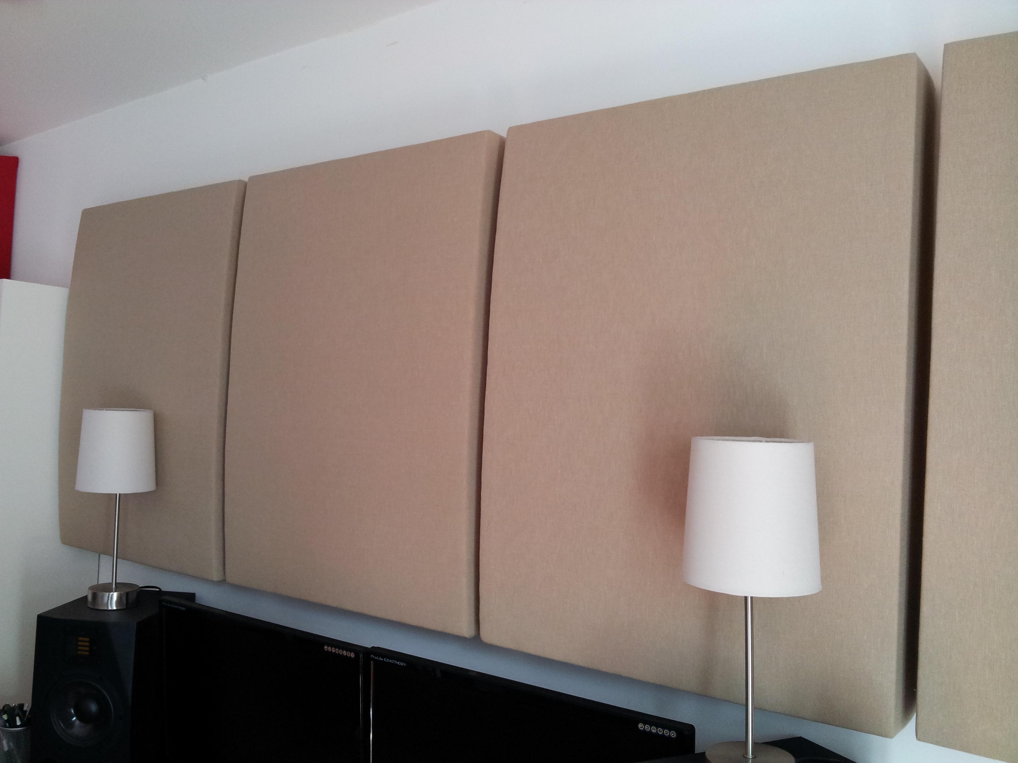 photo diy panneau acoustique diy panneau acoustique. Black Bedroom Furniture Sets. Home Design Ideas