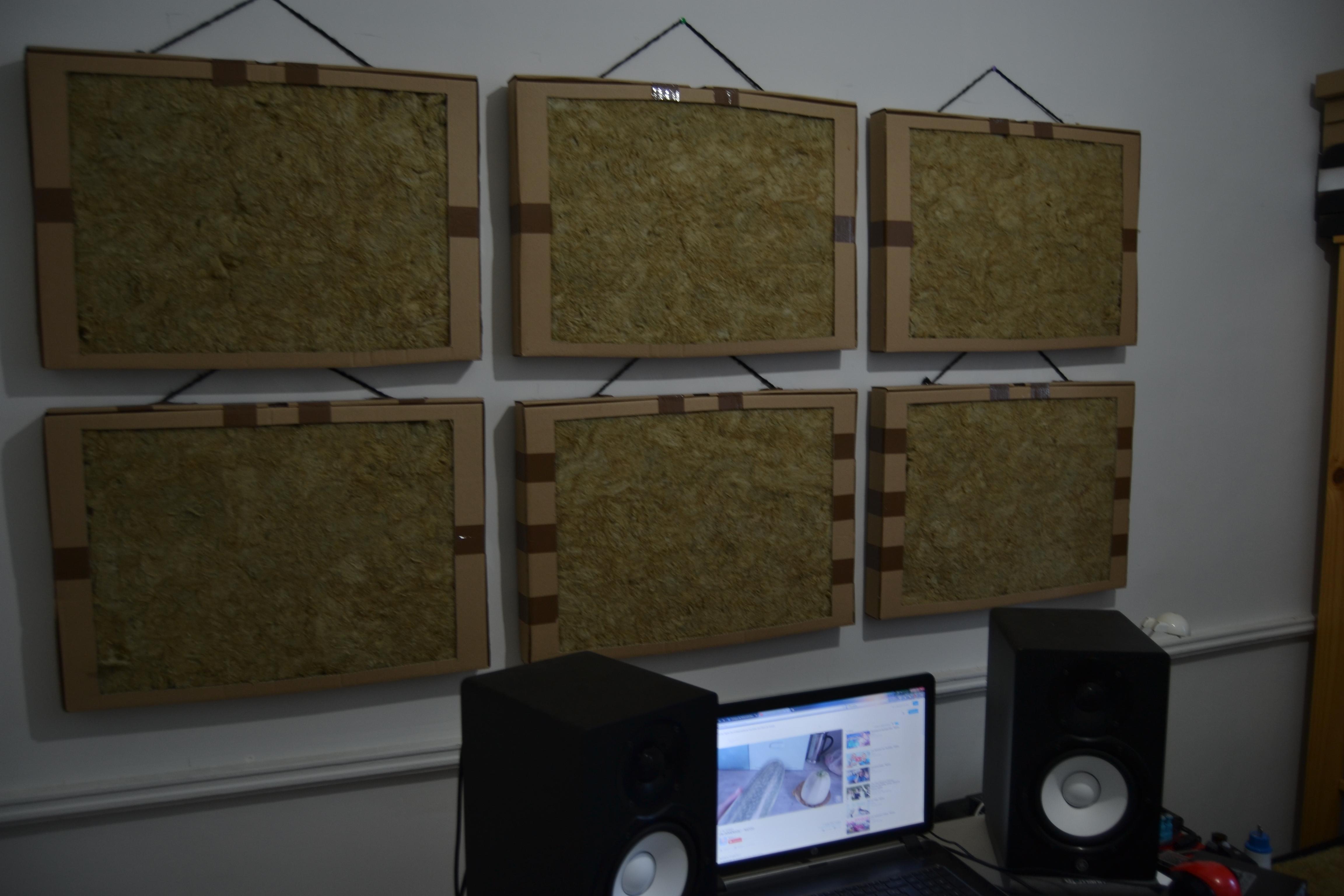 installation de panneau acoustique acoustique