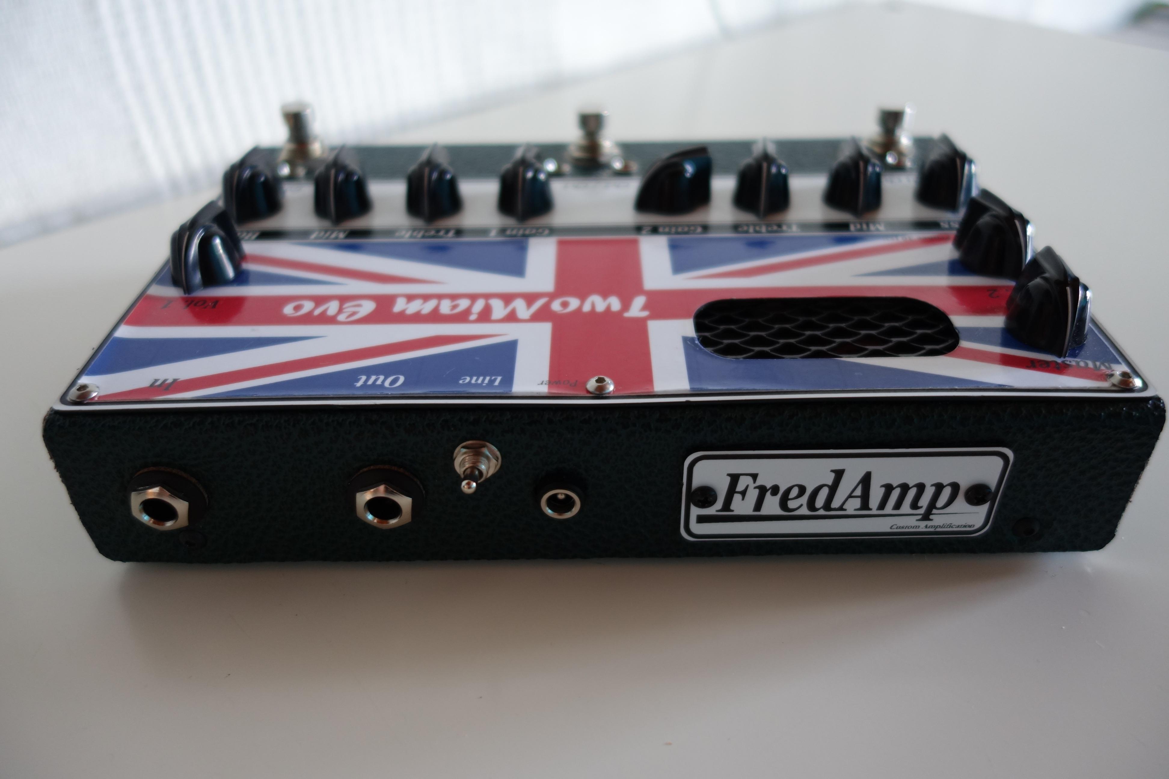 Préampli guitare tout lampes / Tube Guitar Preamp DIY - Audiofanzine