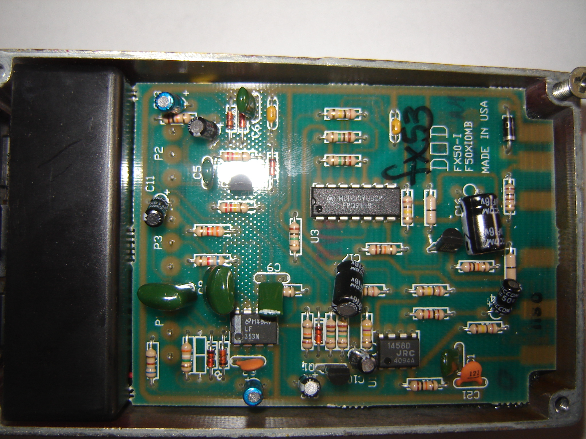 from yech to yeah modding a dod fx53 rh diystompboxes com