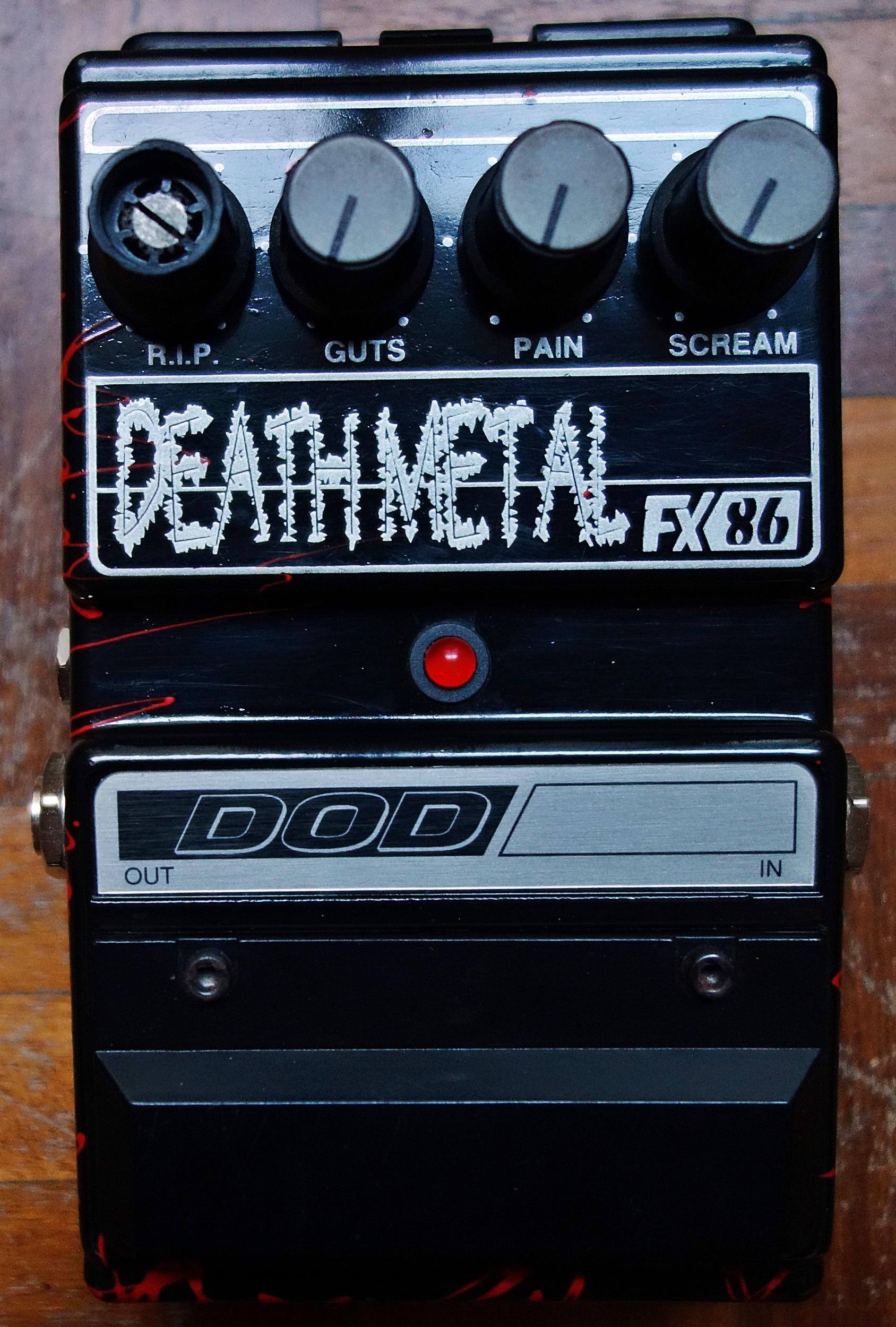 fx86 death metal dod fx86 death metal audiofanzine. Black Bedroom Furniture Sets. Home Design Ideas