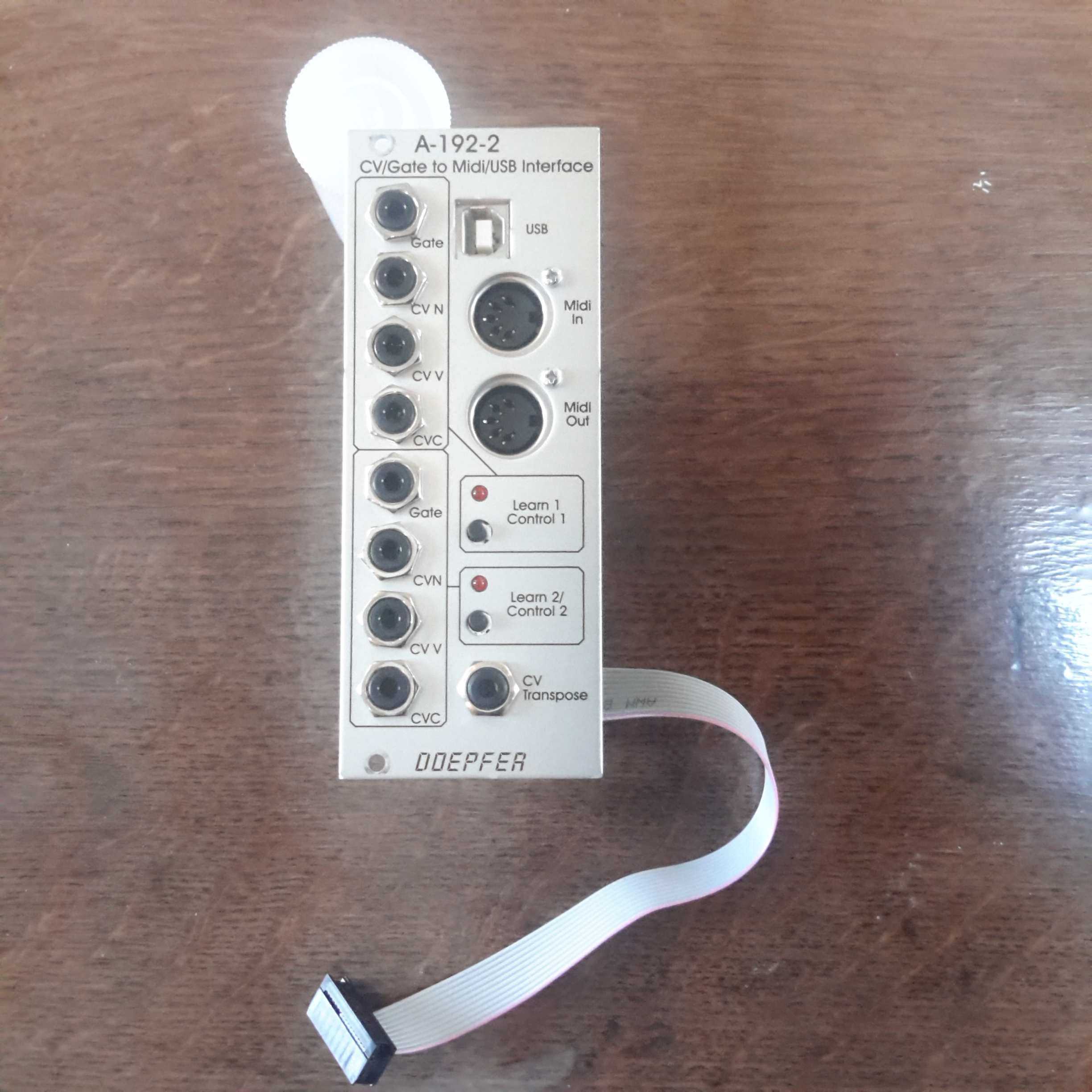 a gate to midi  usb interface doepfer