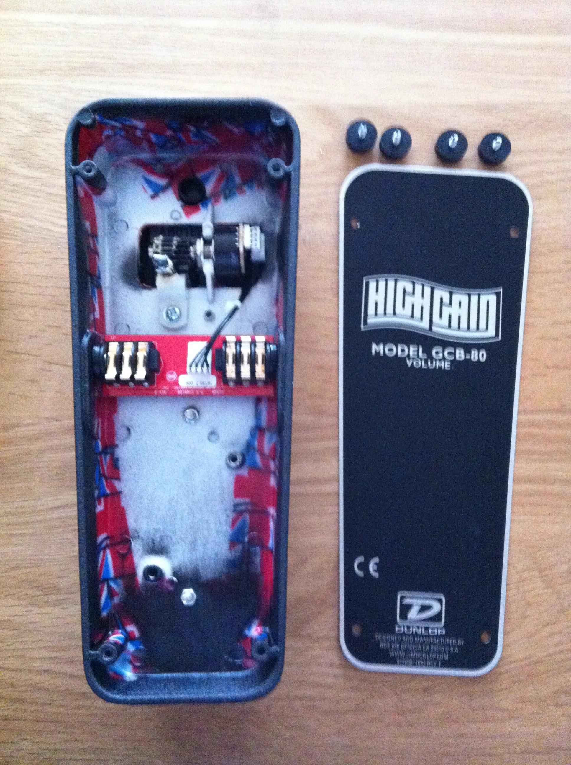 dunlop gcb80 high gain volume pedal image 489155 audiofanzine. Black Bedroom Furniture Sets. Home Design Ideas