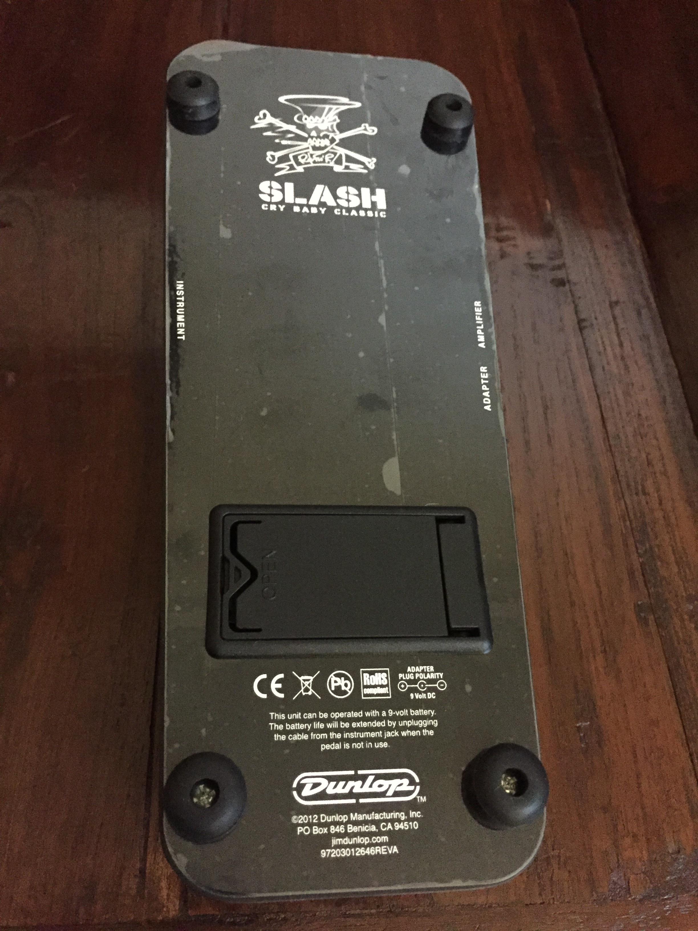 Sc95 Slash Cry Baby Classic Dunlop Audiofanzine