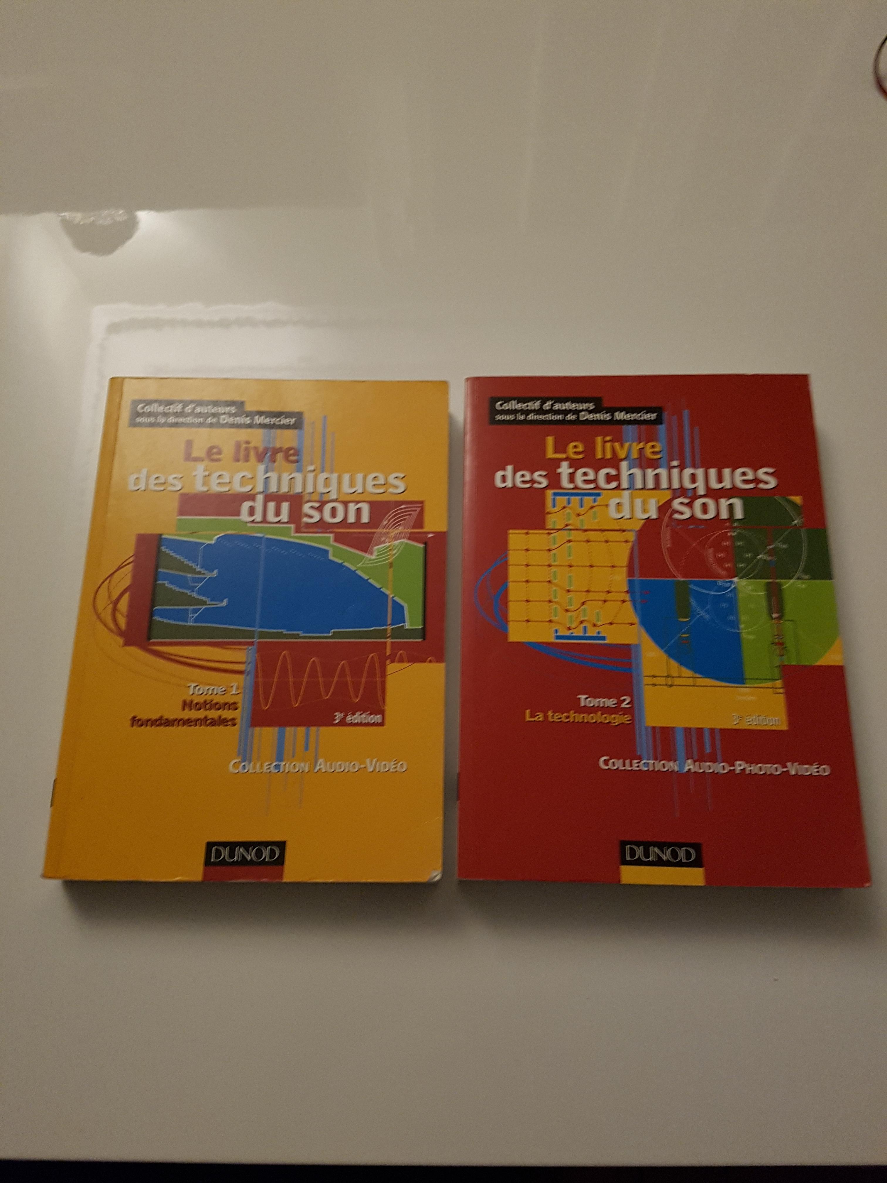 le livre des techniques du son pdf