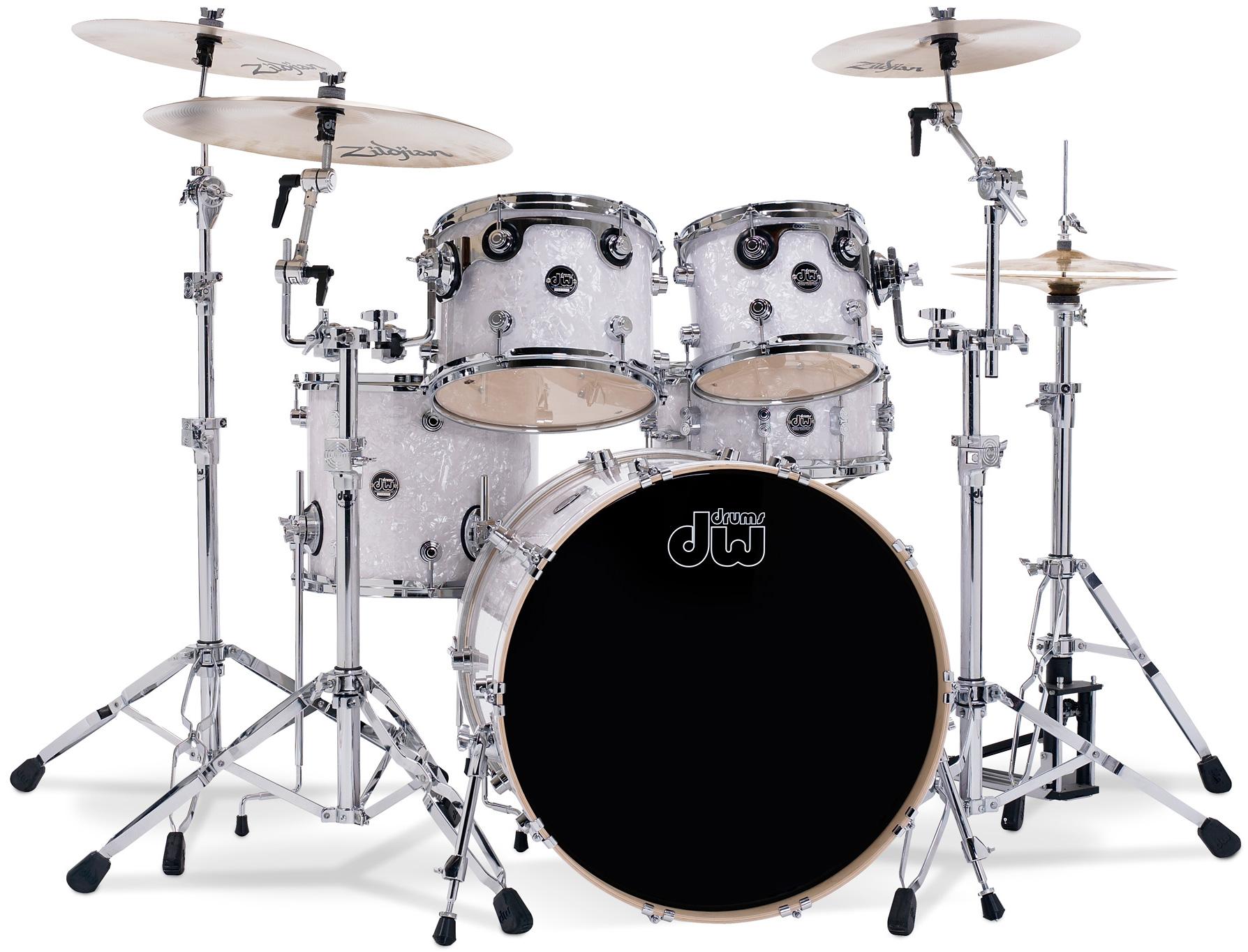 bon produit avis dw drums performance series 5 f ts white marine audiofanzine. Black Bedroom Furniture Sets. Home Design Ideas