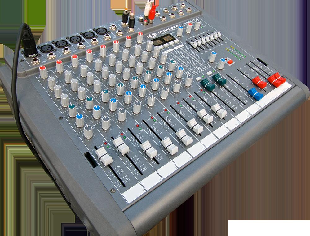 Dynacord powermate 600 table de mixage amplifi e alsace - Table de mixage en ligne gratuit ...