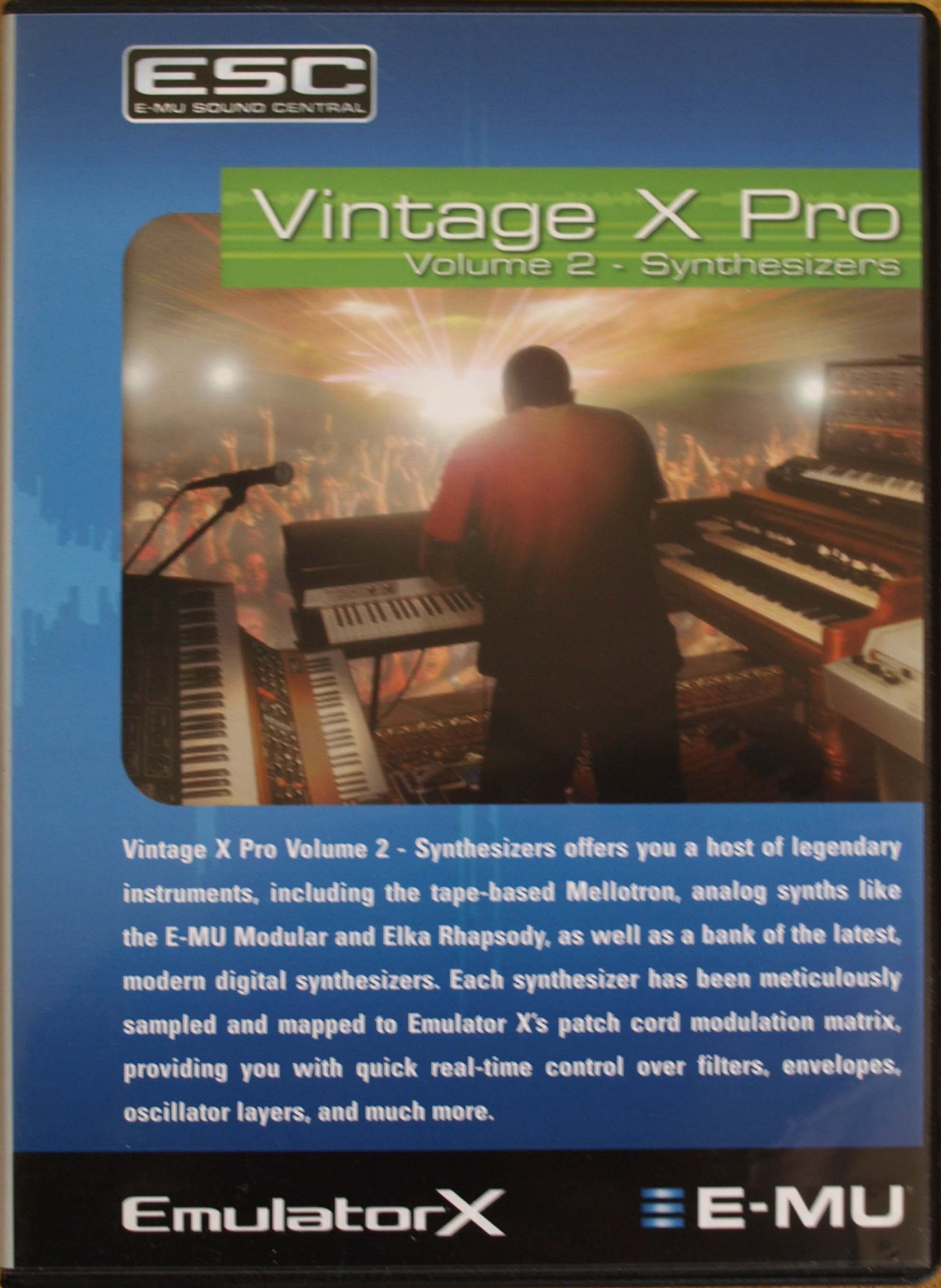 Pictures and images E-MU Vintage X Pro Volume 2 - Audiofanzine
