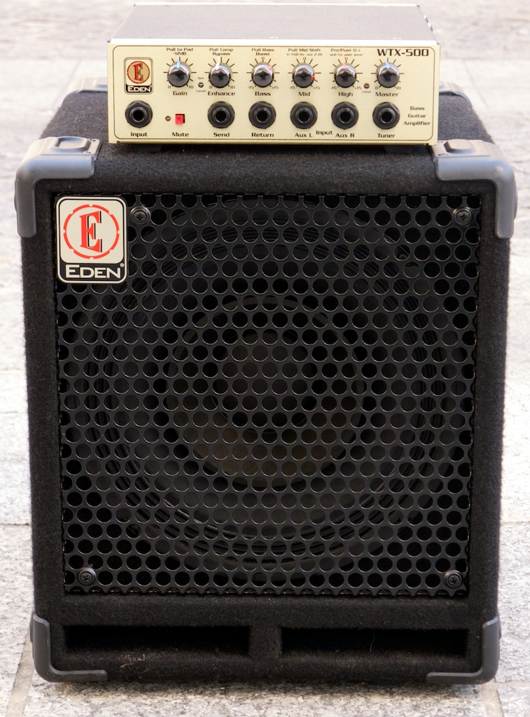 Eden Electronics WTX-500 Amplifier Head and EX110 Speaker Cabinet ...