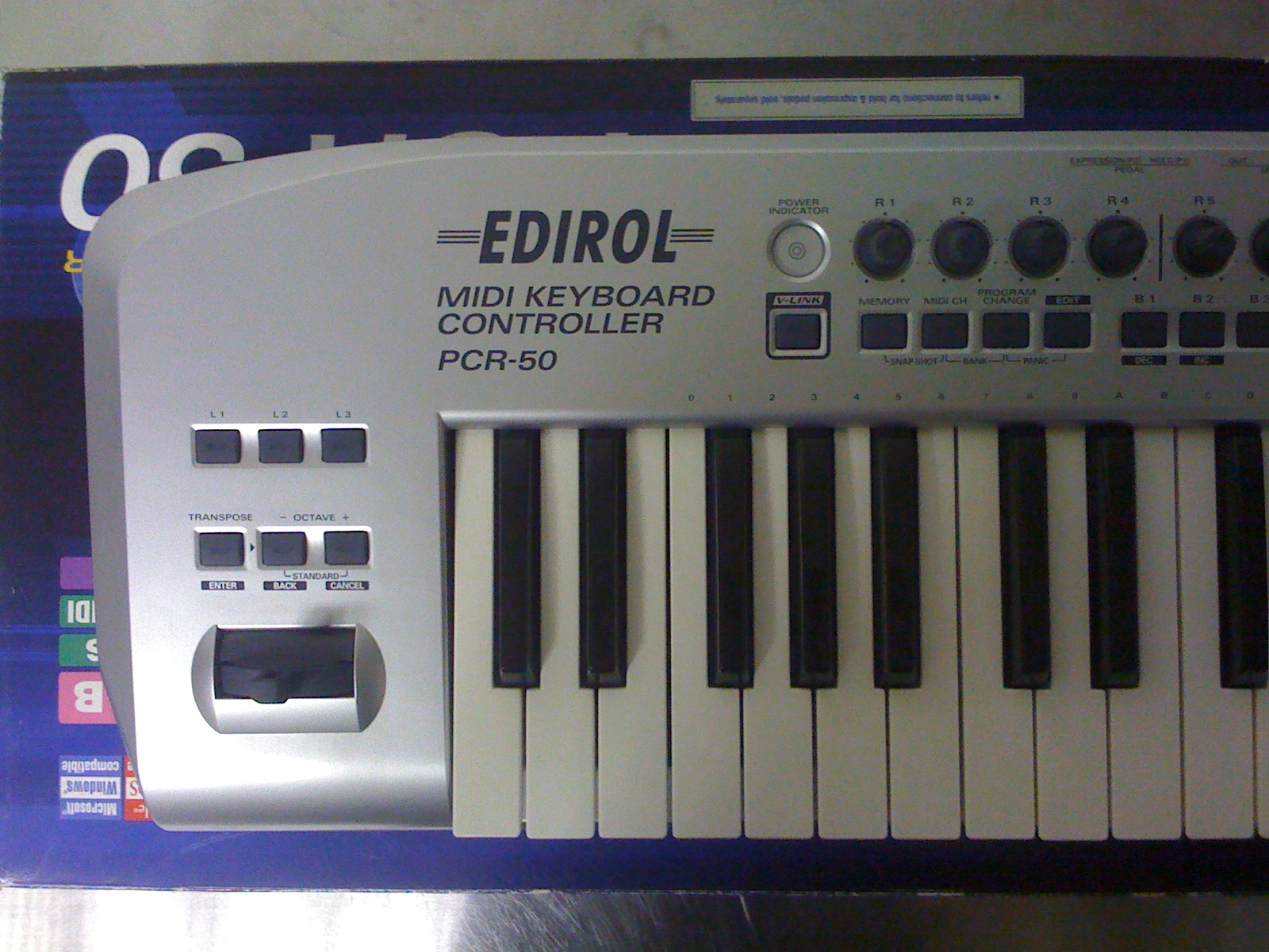 Roland Edirol PCR-50 Manuals