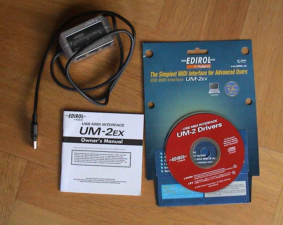 Roland - Support - UM-2EX