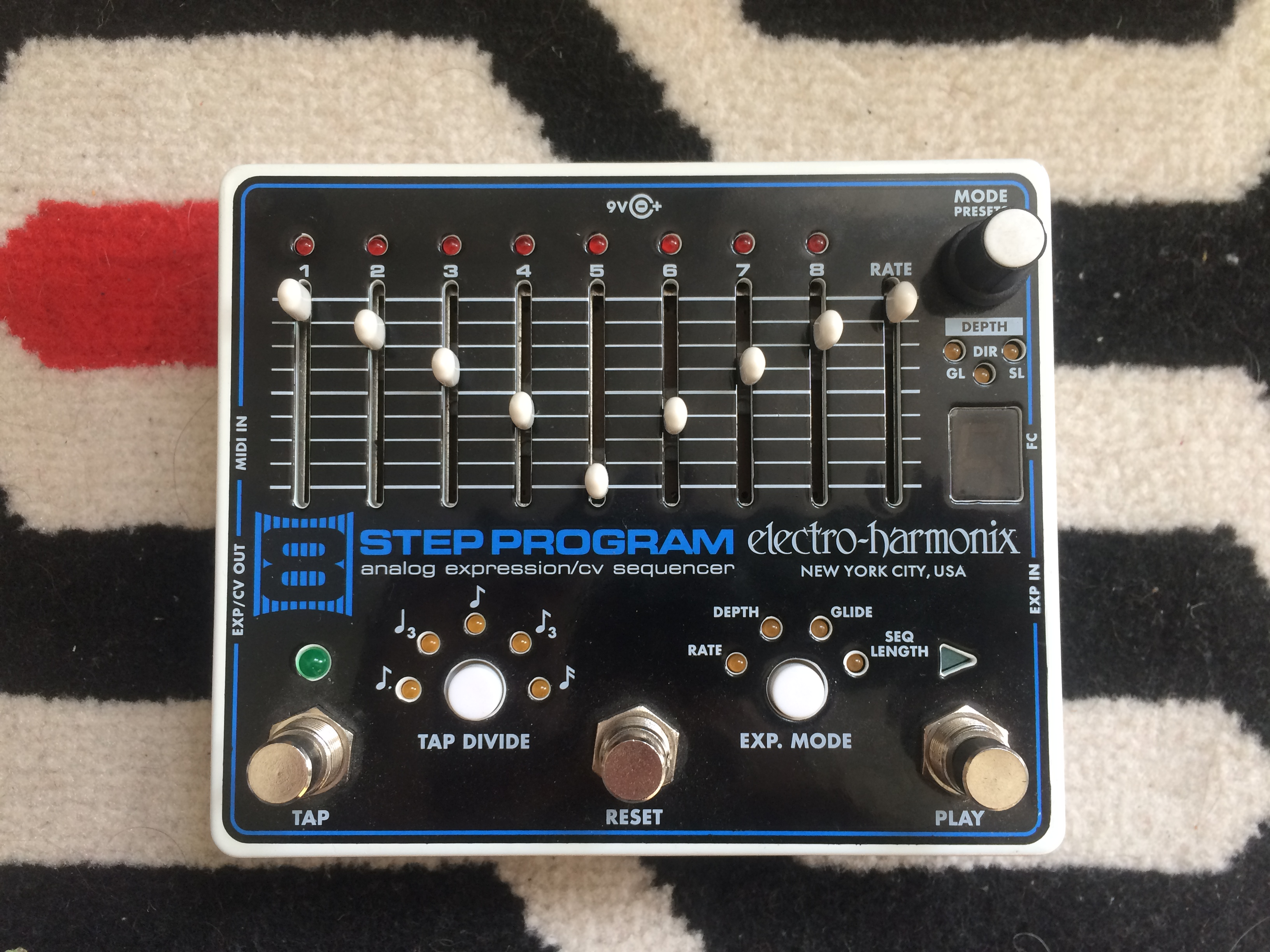 8-STEP PROGRAM - Electro-Harmonix