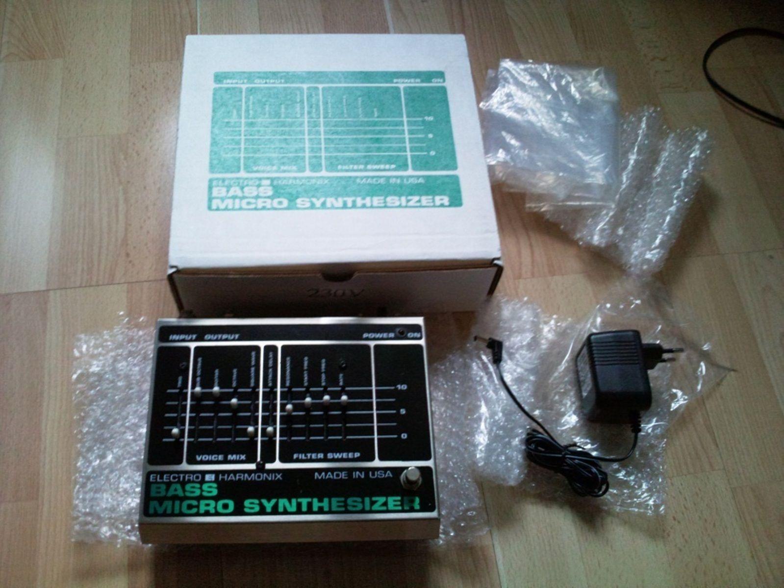 electro harmonix bass micro synthesizer original image 19170 audiofanzine. Black Bedroom Furniture Sets. Home Design Ideas