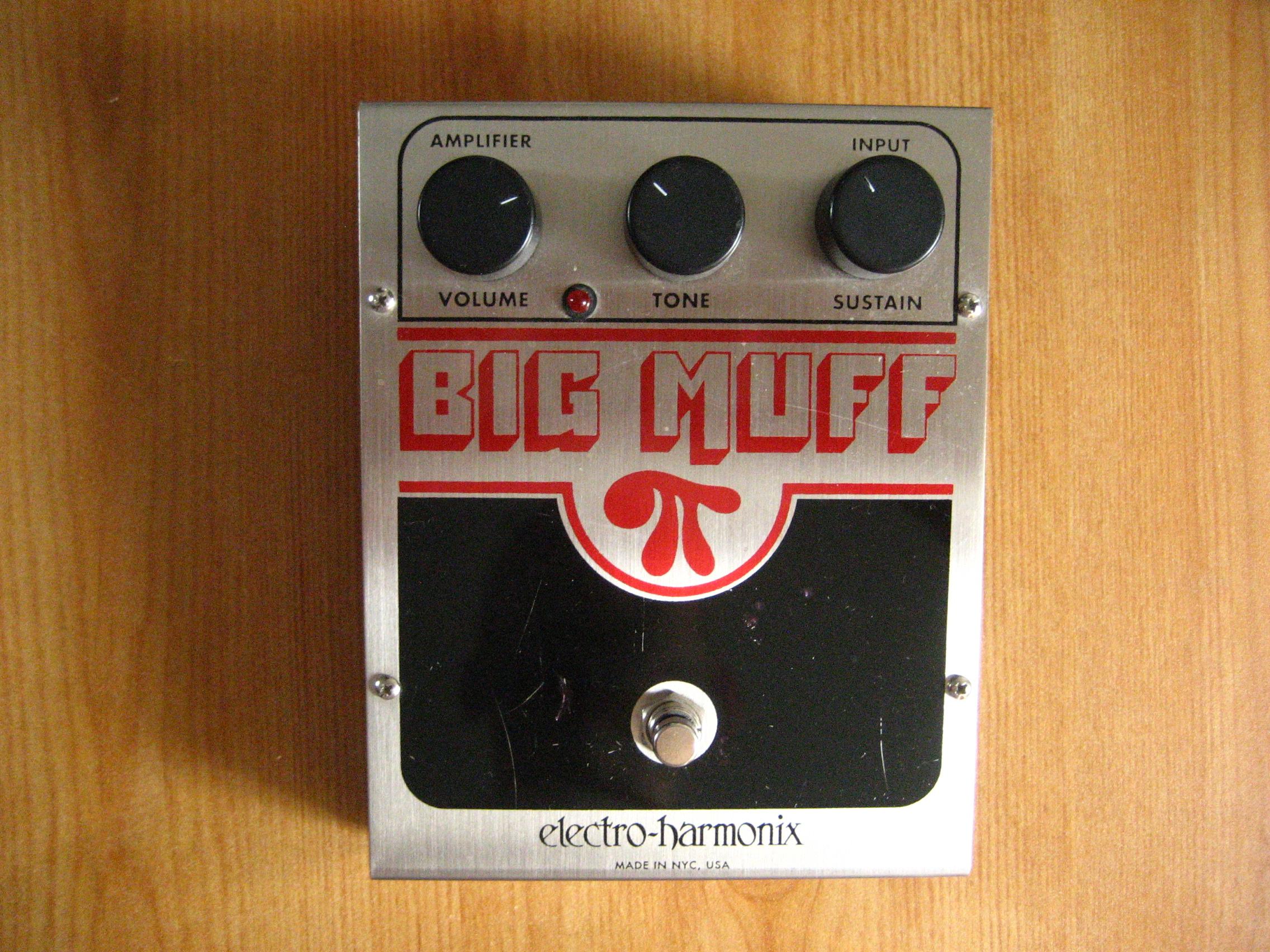 electro harmonix big muff pi image 759869 audiofanzine. Black Bedroom Furniture Sets. Home Design Ideas