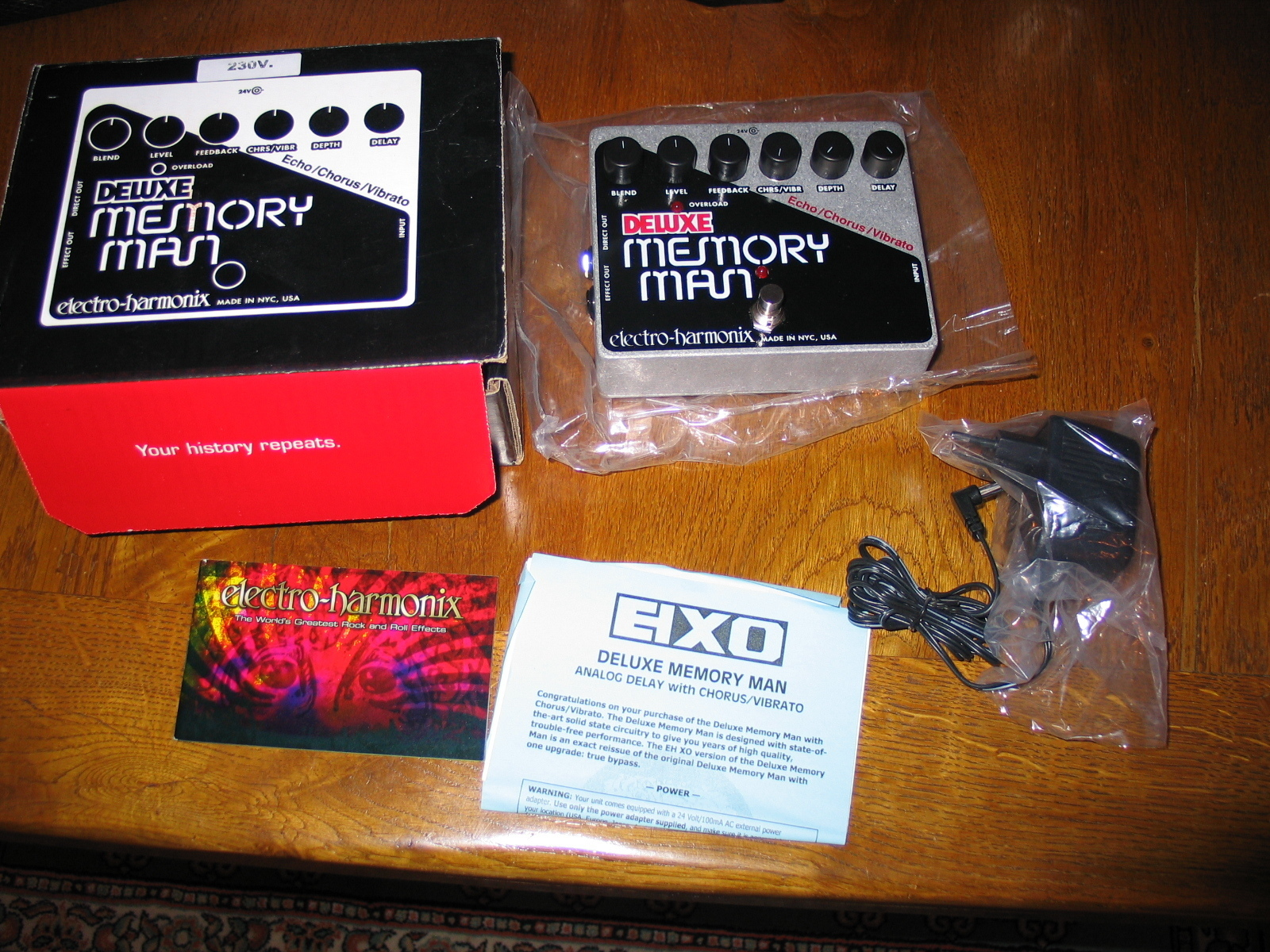 dating electro harmonix memory man My search ended with the electro-harmonix memory man deluxe  i'm not dating anyone's daughter  best analog delay pedal for analog synths: memory man deluxe .