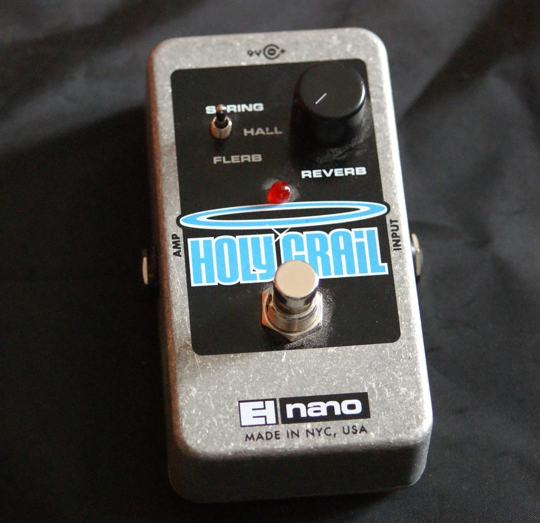 Holy Grail Nano Electro Harmonix Holy Grail Nano
