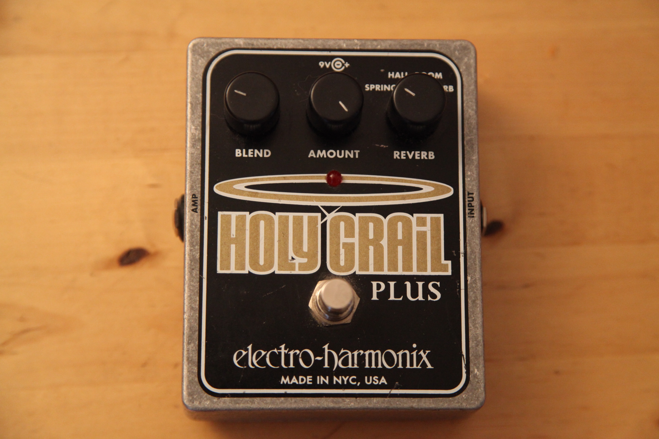 Holy Grail Plus : photo electro harmonix holy grail plus electro harmonix holy grail 602534 audiofanzine ~ Vivirlamusica.com Haus und Dekorationen