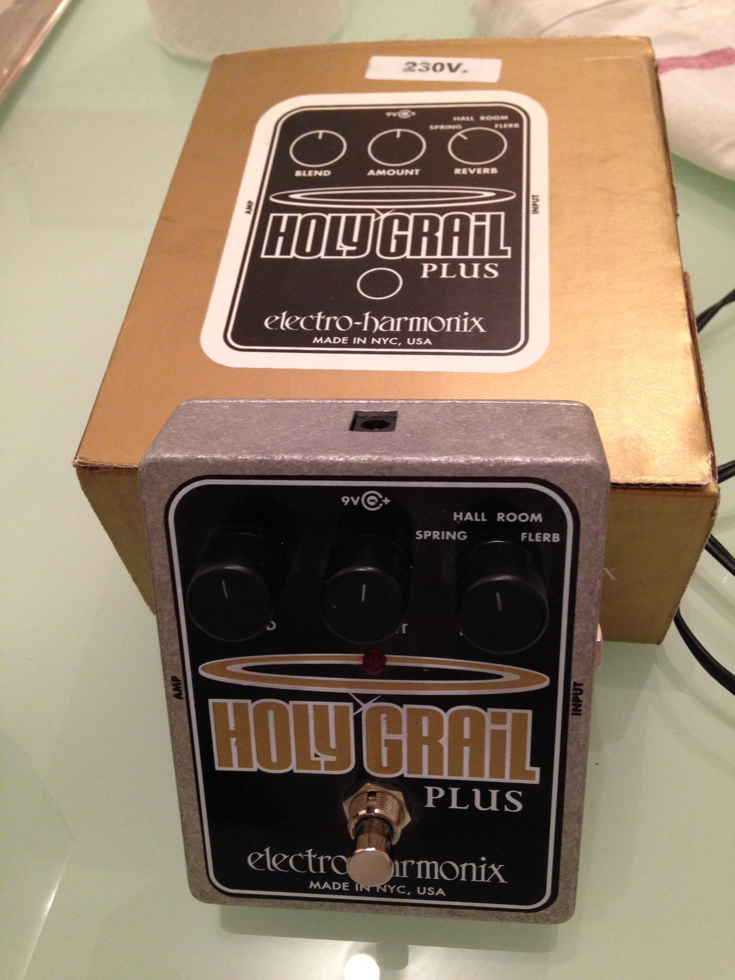 Holy Grail Plus : photo electro harmonix holy grail plus electro harmonix holy grail 924079 audiofanzine ~ Vivirlamusica.com Haus und Dekorationen