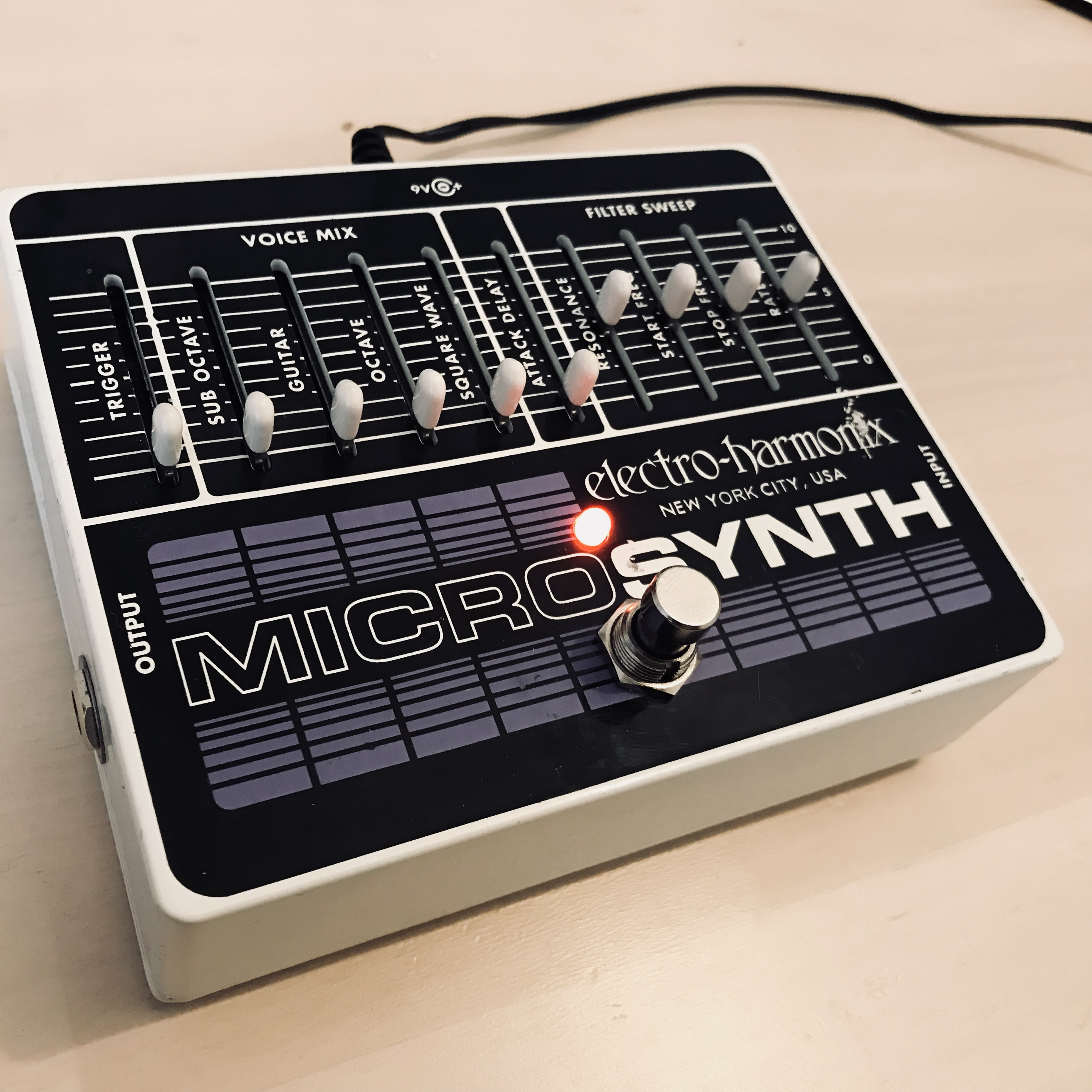 micro synth electro harmonix micro synth audiofanzine. Black Bedroom Furniture Sets. Home Design Ideas