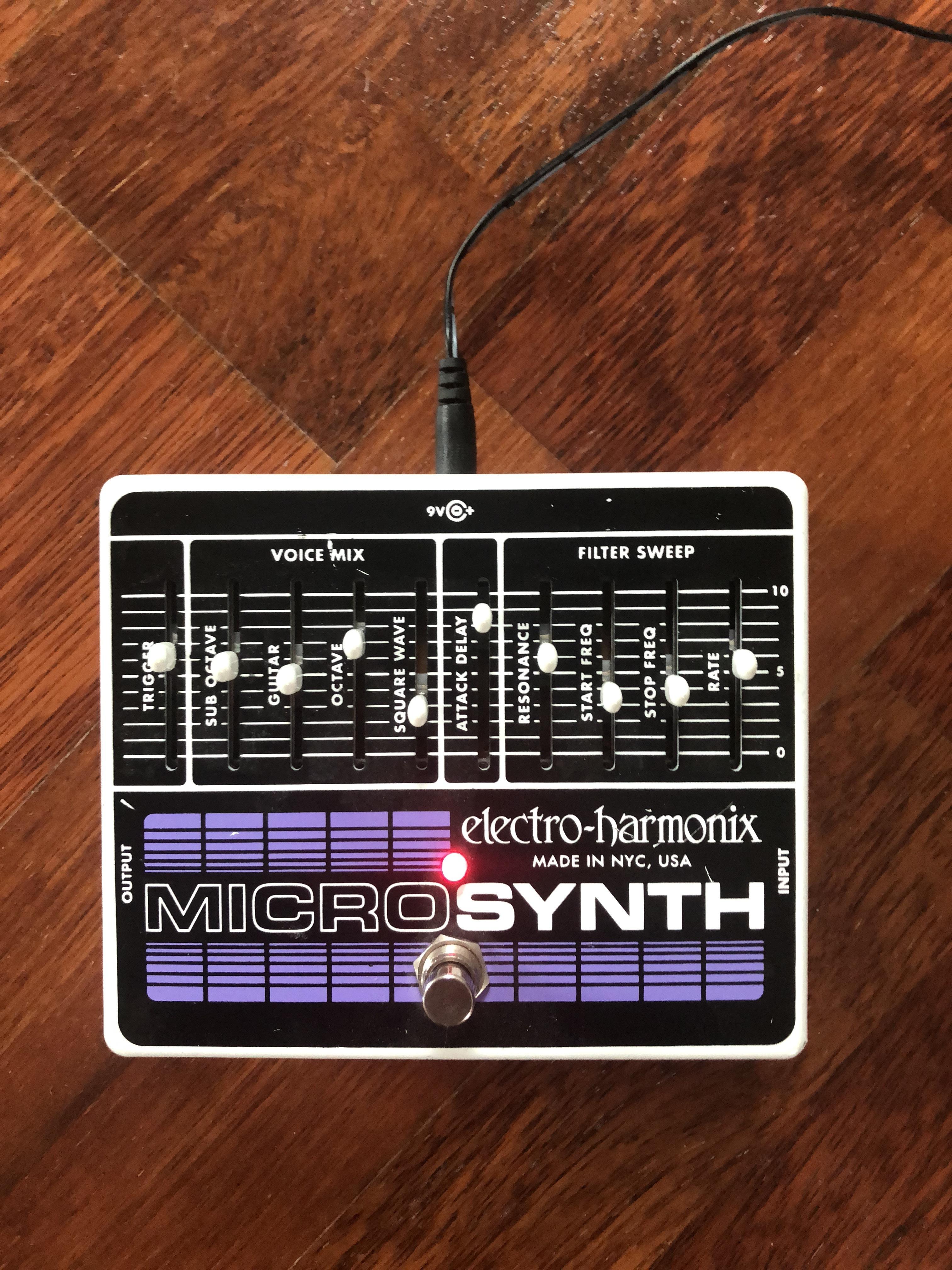 electro harmonix micro synth audiofanzine. Black Bedroom Furniture Sets. Home Design Ideas