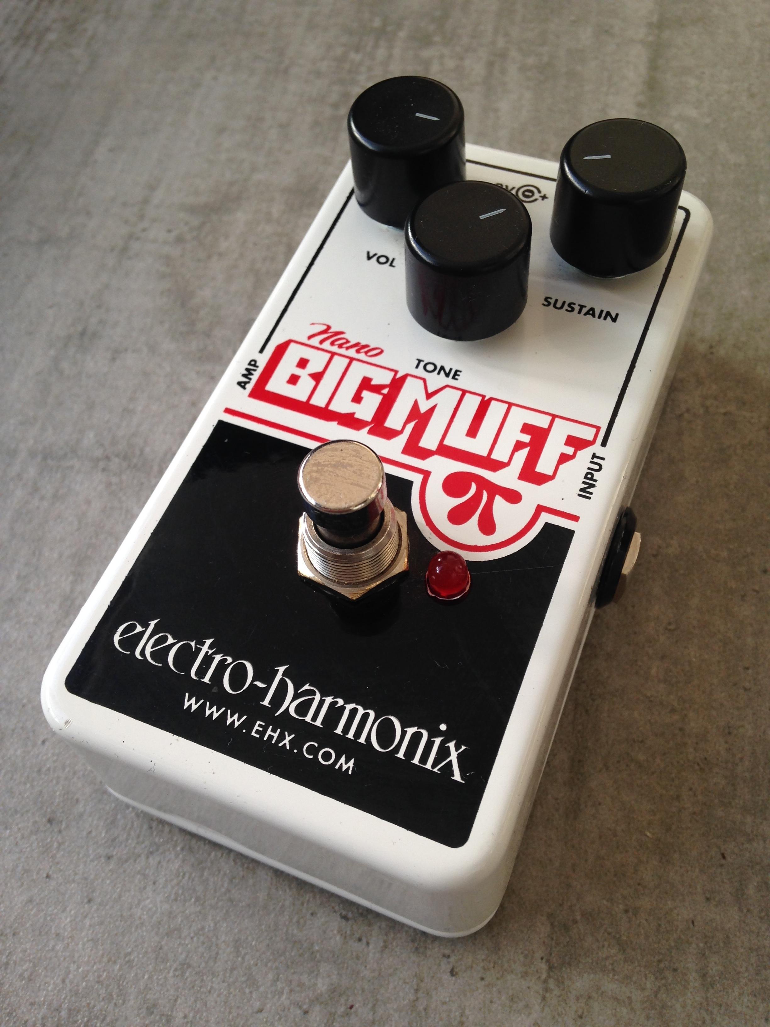 electro harmonix nano big muff pi image 1563580 audiofanzine. Black Bedroom Furniture Sets. Home Design Ideas