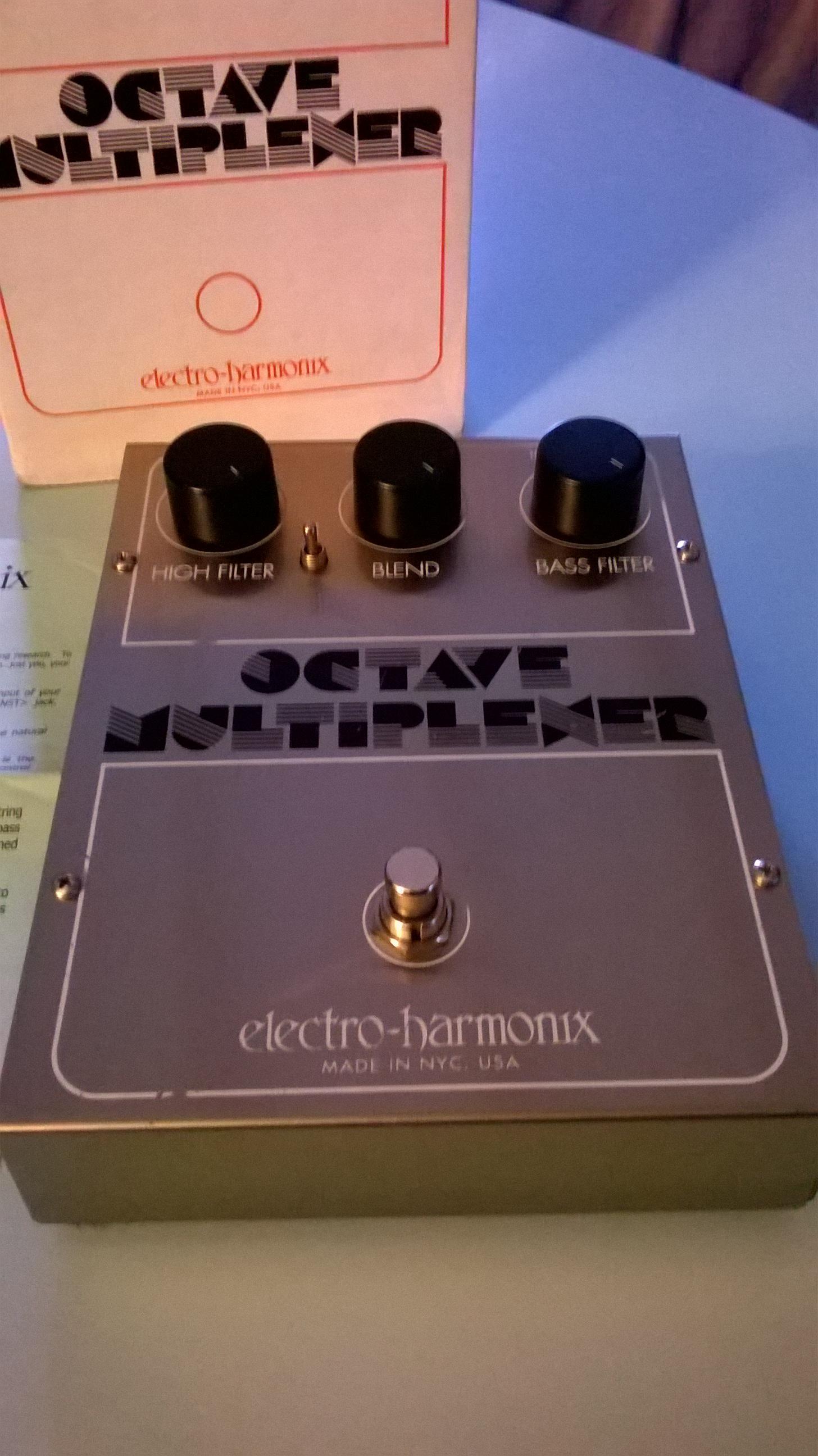 octave multiplexer reissue electro harmonix audiofanzine. Black Bedroom Furniture Sets. Home Design Ideas