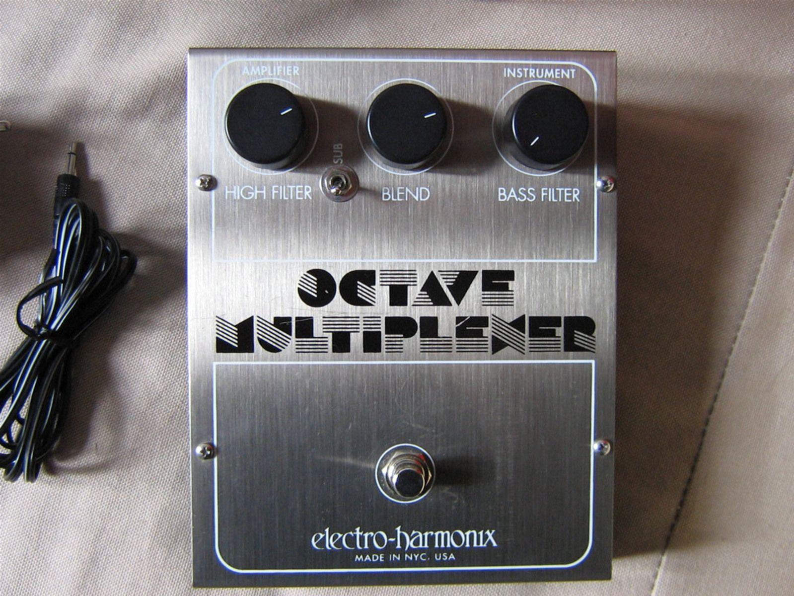 electro harmonix octave multiplexer reissue image 16674 audiofanzine. Black Bedroom Furniture Sets. Home Design Ideas
