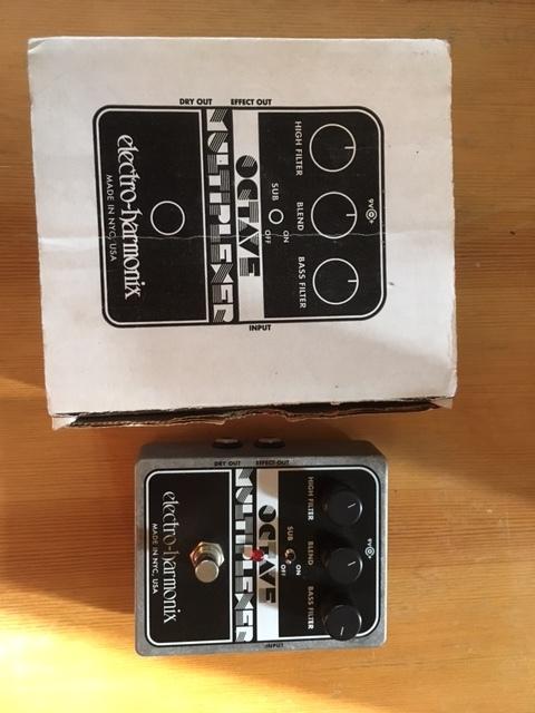 electro harmonix octave multiplexer xo image 1836965 audiofanzine. Black Bedroom Furniture Sets. Home Design Ideas