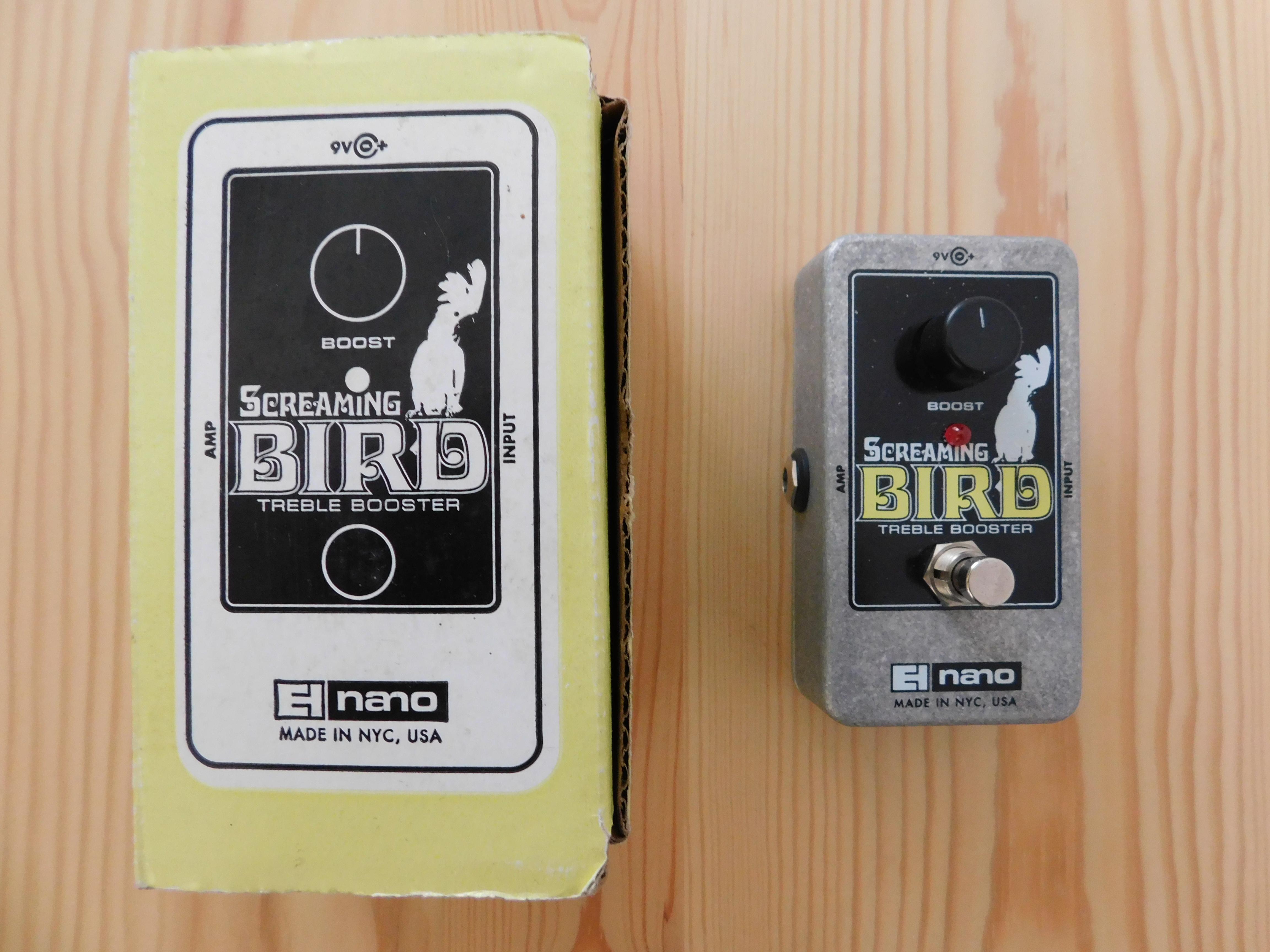 electro harmonix screaming bird image 2011066 audiofanzine. Black Bedroom Furniture Sets. Home Design Ideas