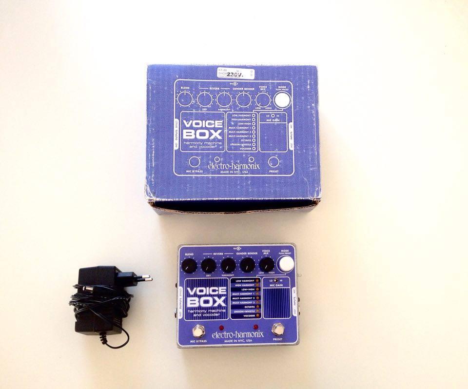 Voice box electro harmonix comme neuf aquitaine for Container prix neuf