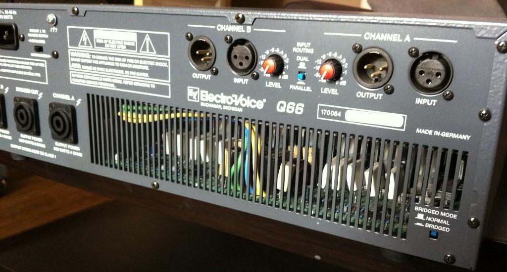 q66 electro voice q66 audiofanzine. Black Bedroom Furniture Sets. Home Design Ideas
