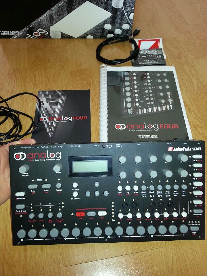 elektron analog four mkii manual