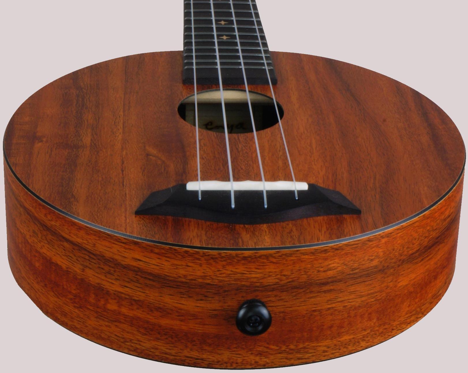 kaka enya circular soprano standard ukulele