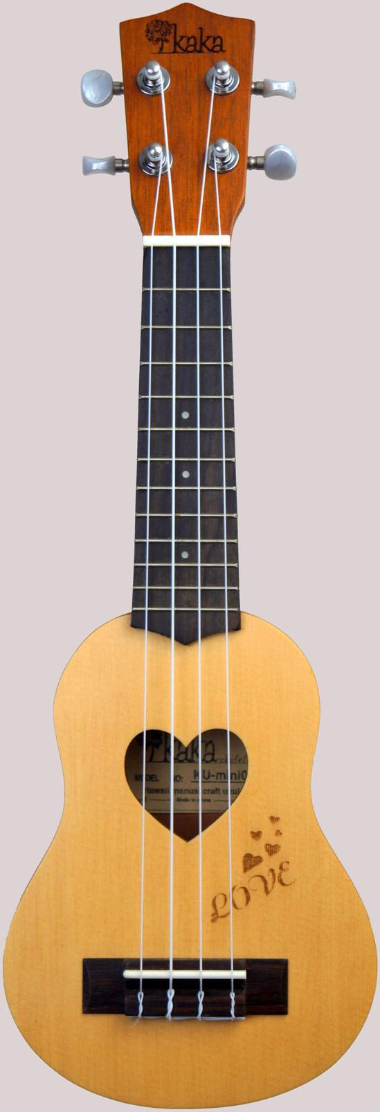Enya Kaka Love mini sopranino pocket ukulele