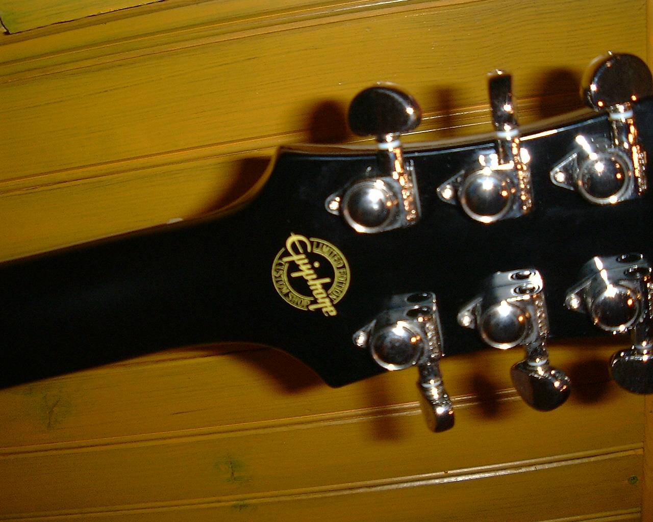 Epiphone Limited Edition Les Paul Standard Black Royale ...