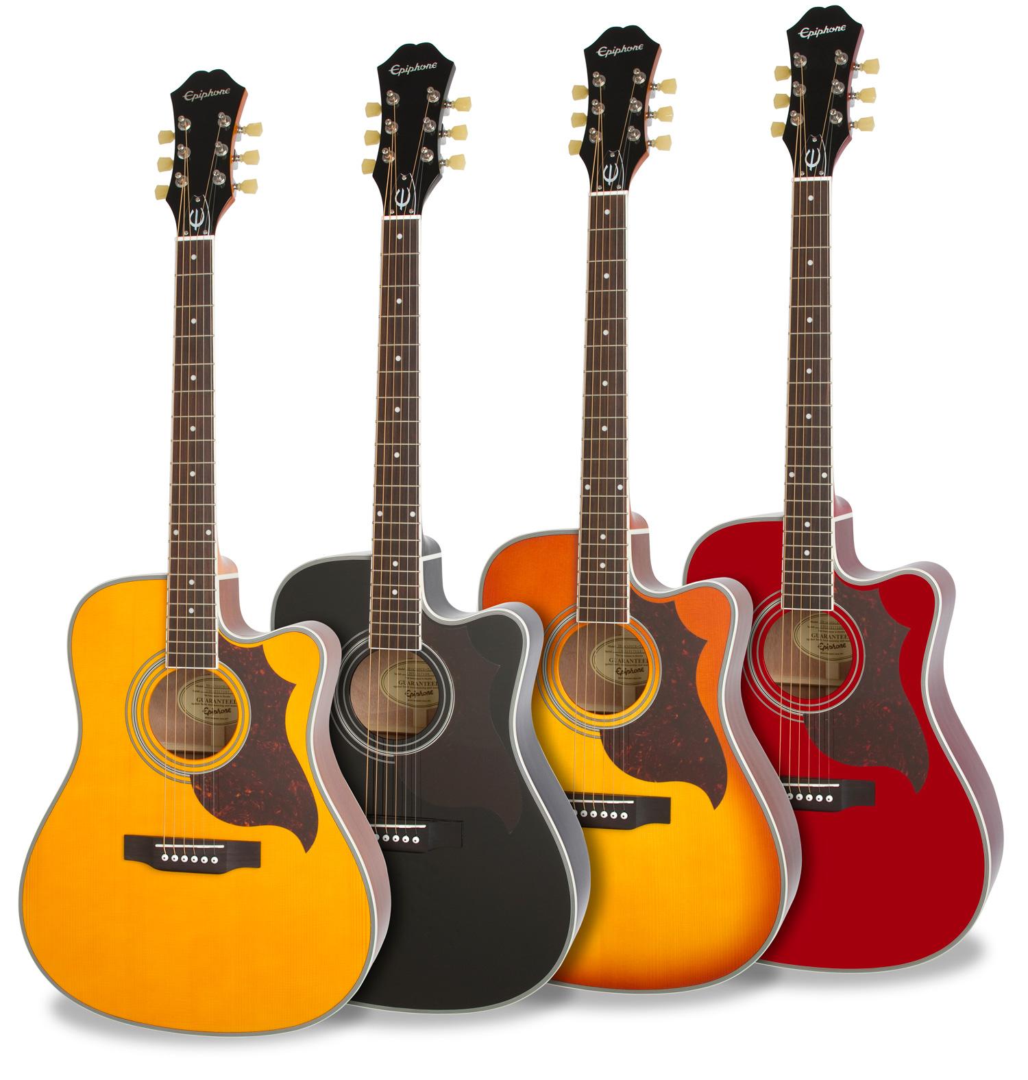 epiphone ft 350sce guitare electro acoustique wine red. Black Bedroom Furniture Sets. Home Design Ideas