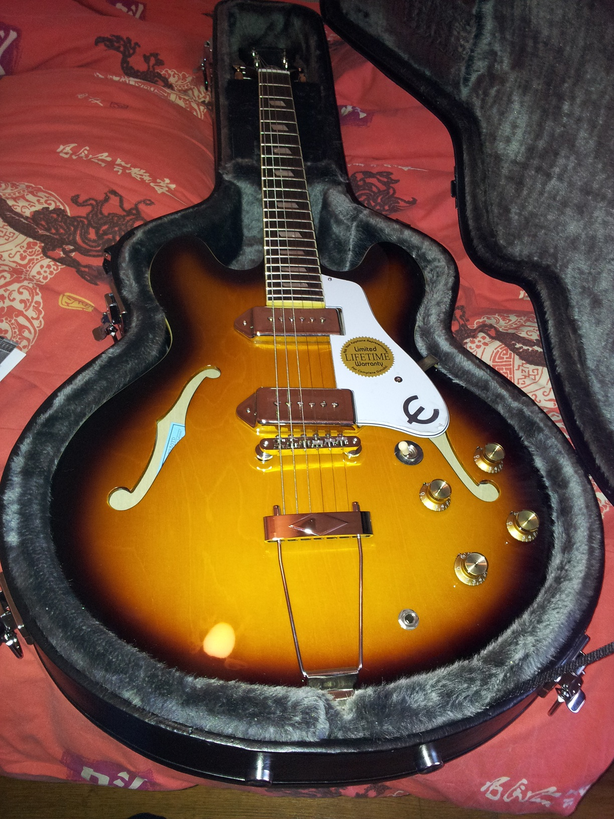 epiphone casino inspired by john lennon
